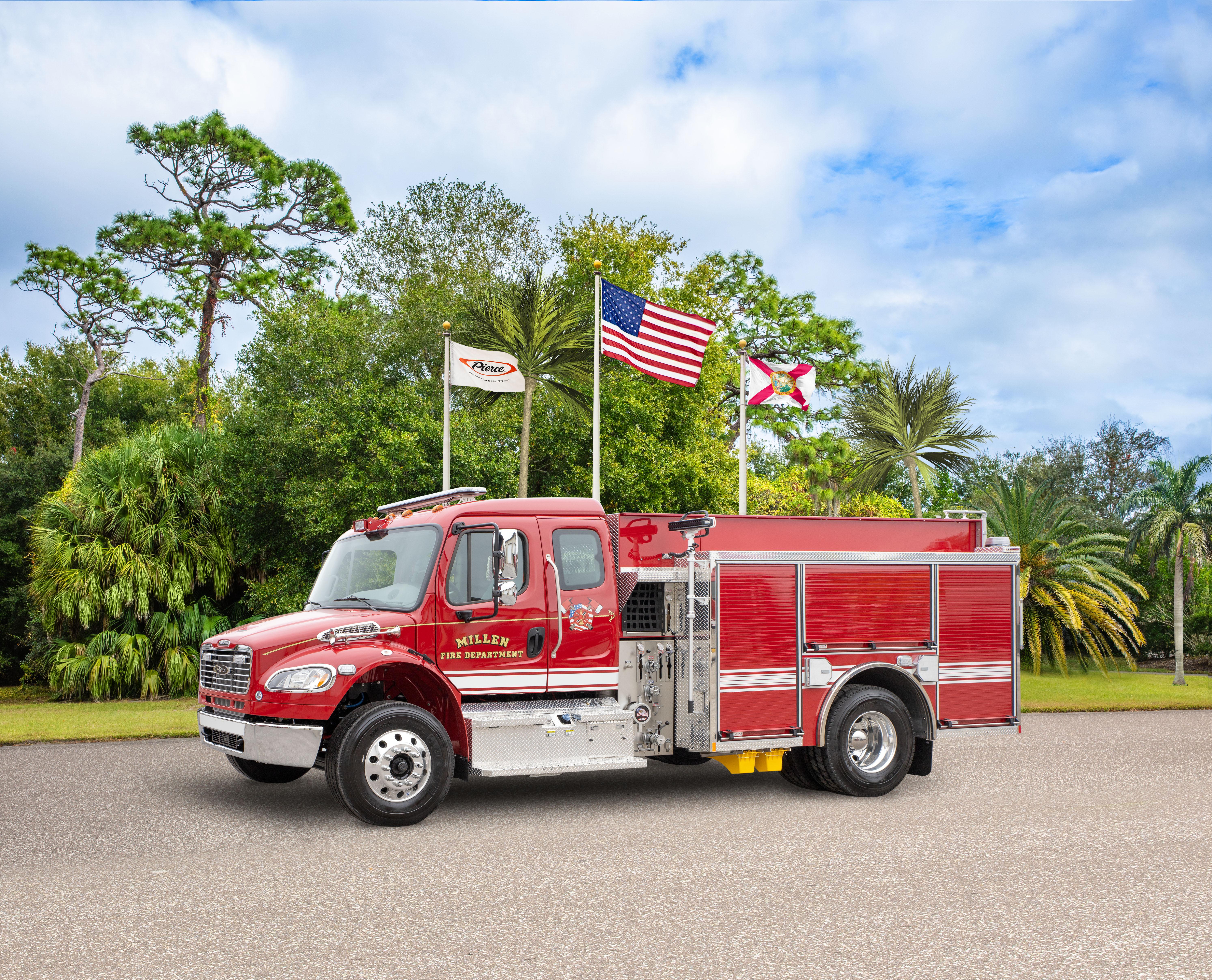 Millen Fire Department - Pumper
