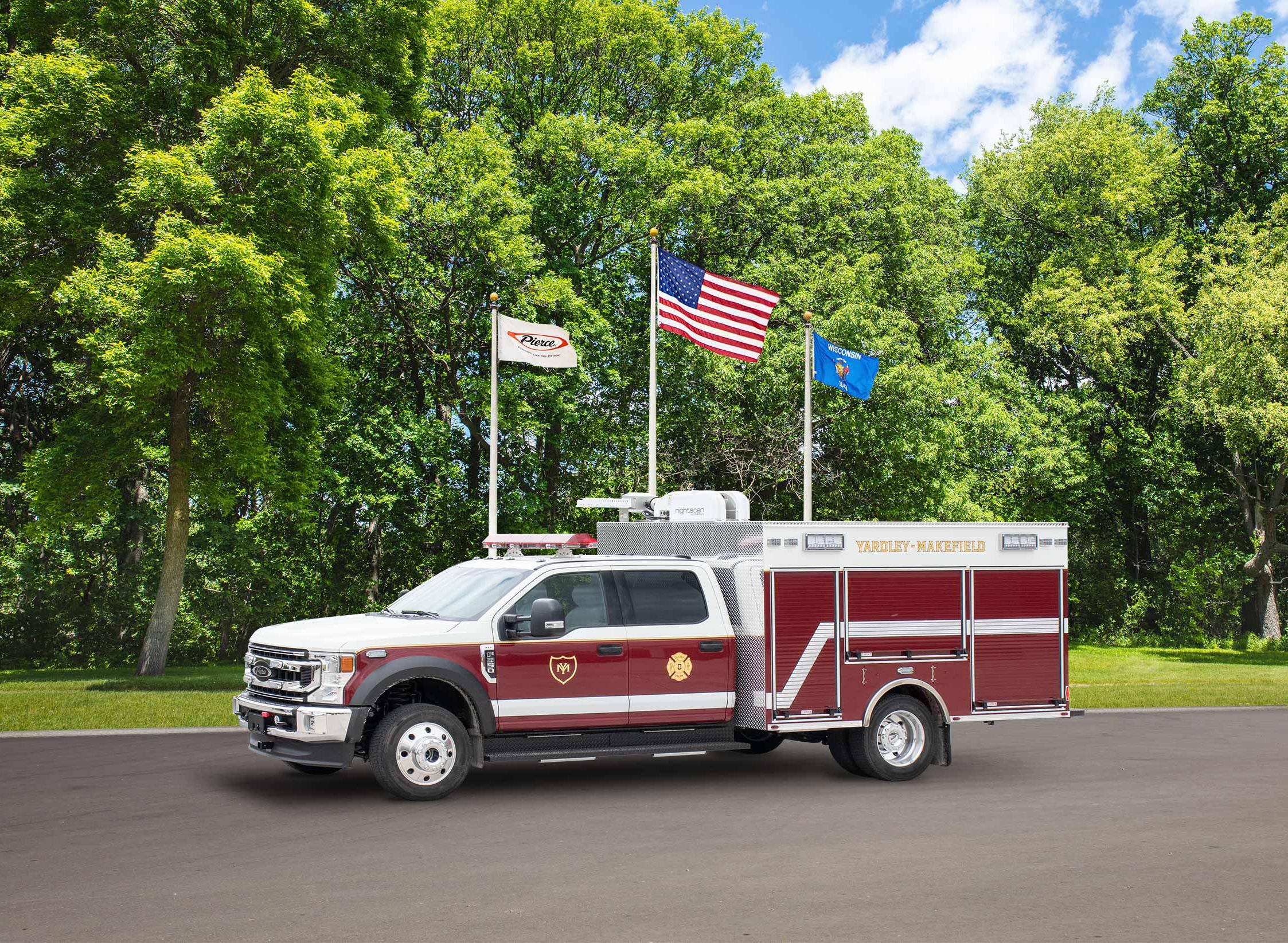 Yardley-Makefield Fire Company - Pumper