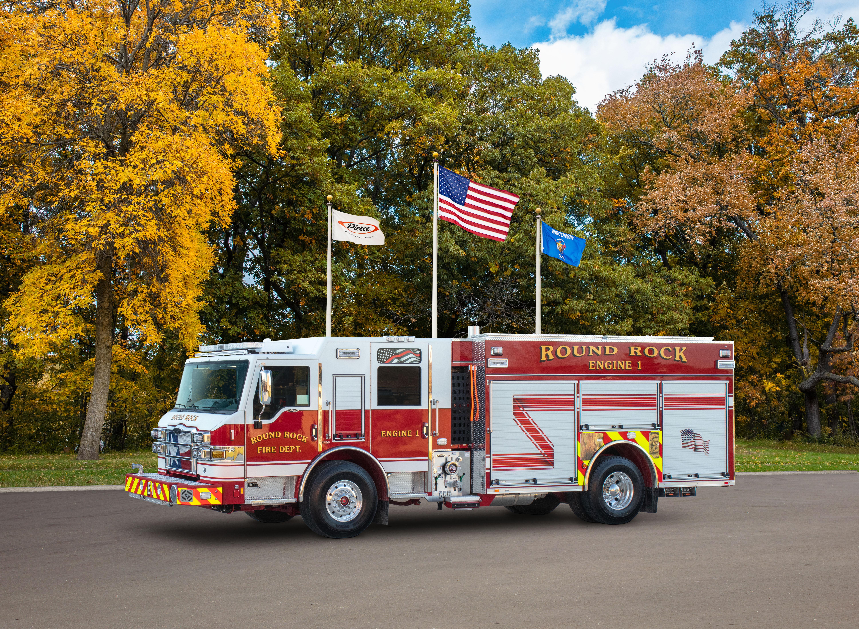 Round Rock Fire Department - Pumper