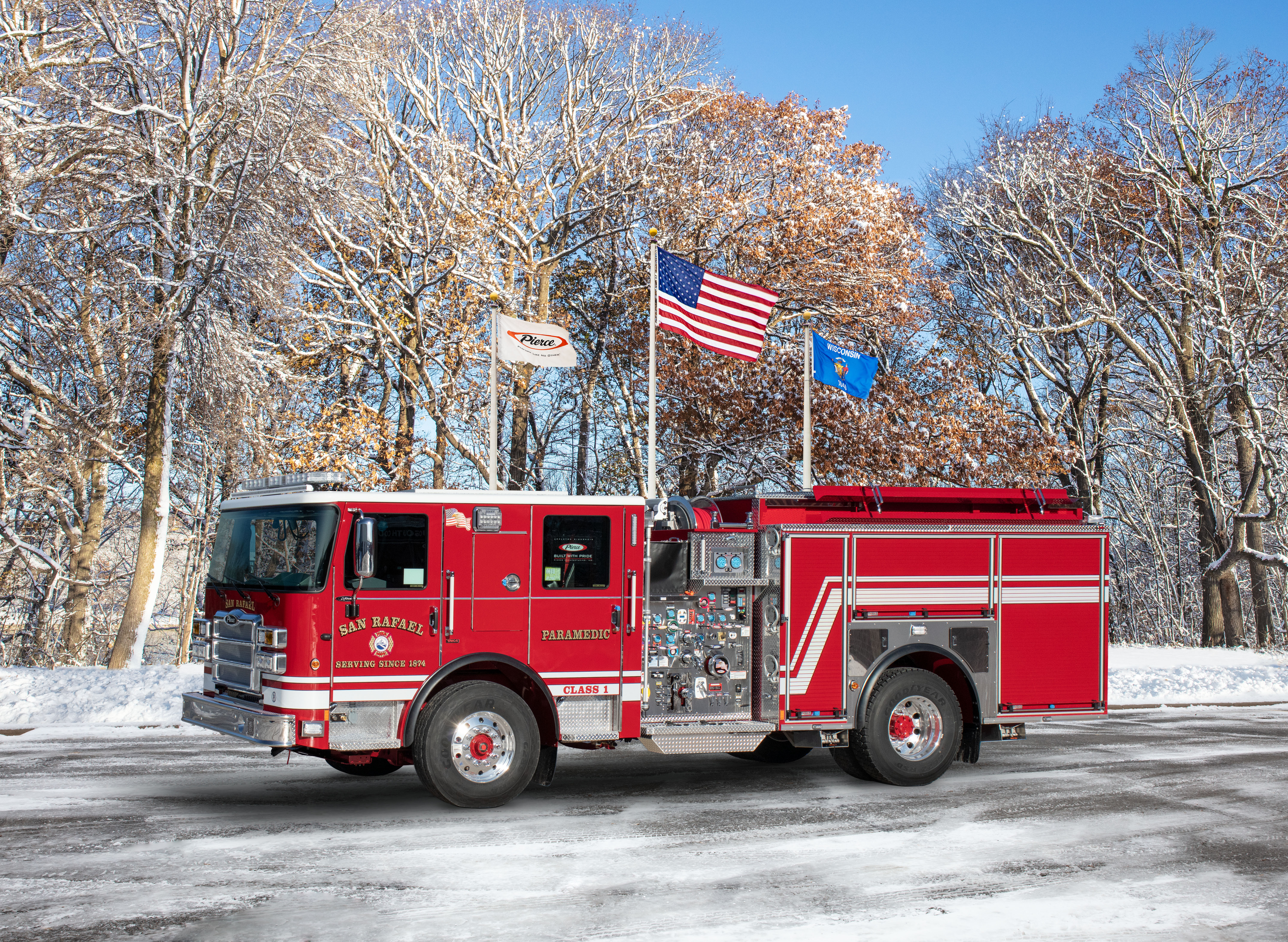 San Rafael Fire Department - Pumper