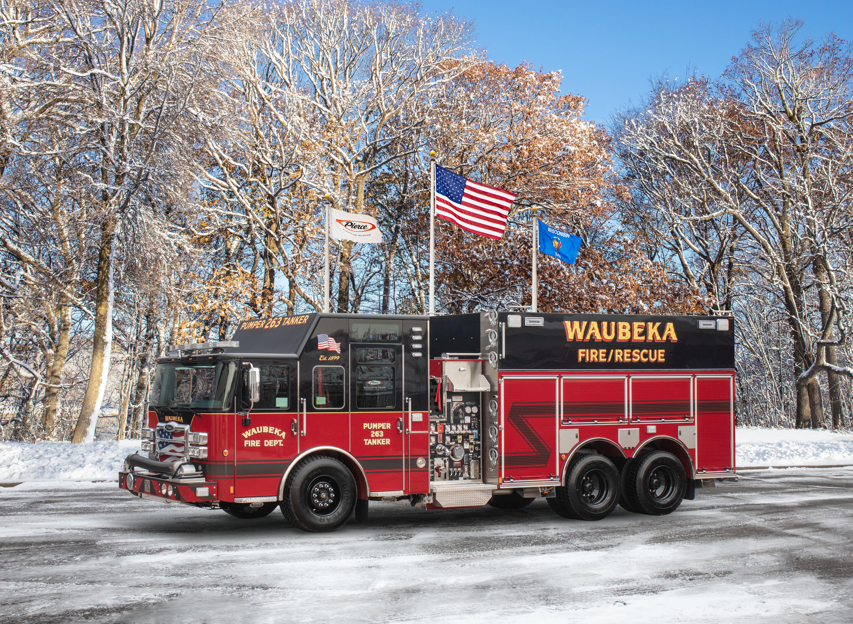 Waubeka Fire Department - Tanker