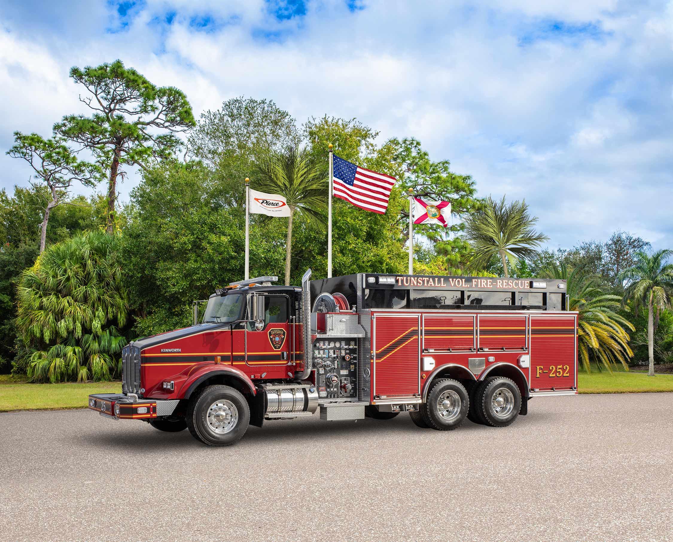 Tunstall Volunteer Fire Department - Tanker