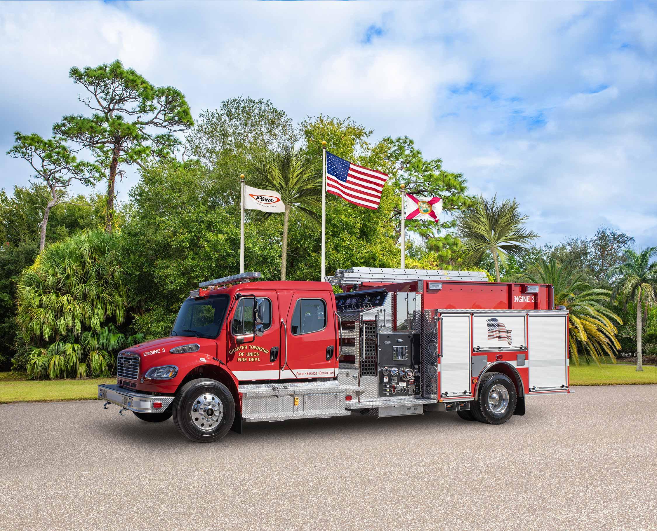 Mount Pleasant Fire Department - Pumper
