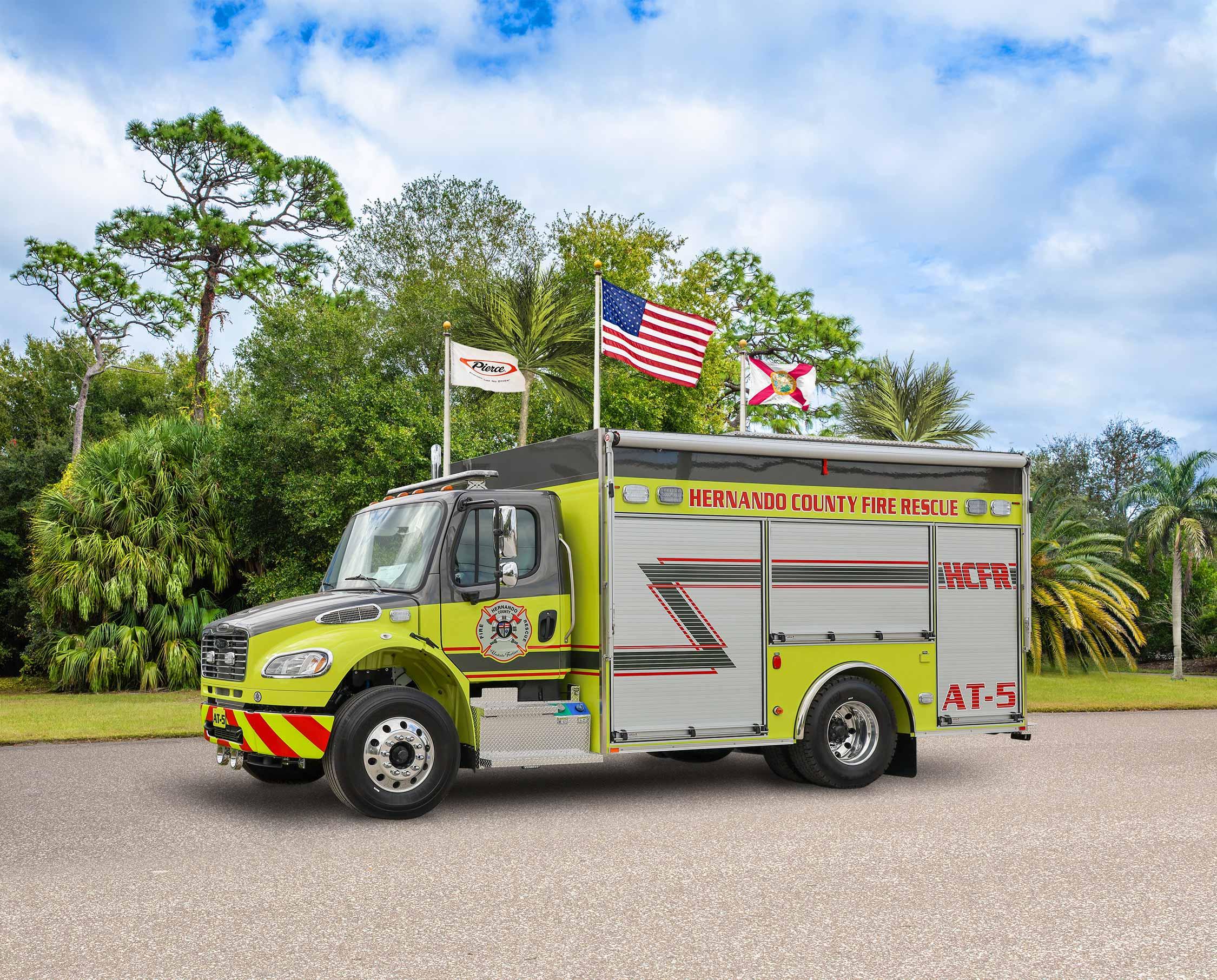 Hernando County Fire Rescue - Rescue