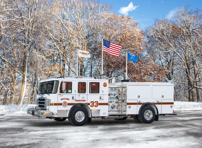 Kentland Volunteer Fire Department - Pumper