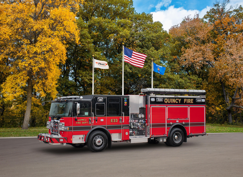 Quincy Fire Department - Pumper