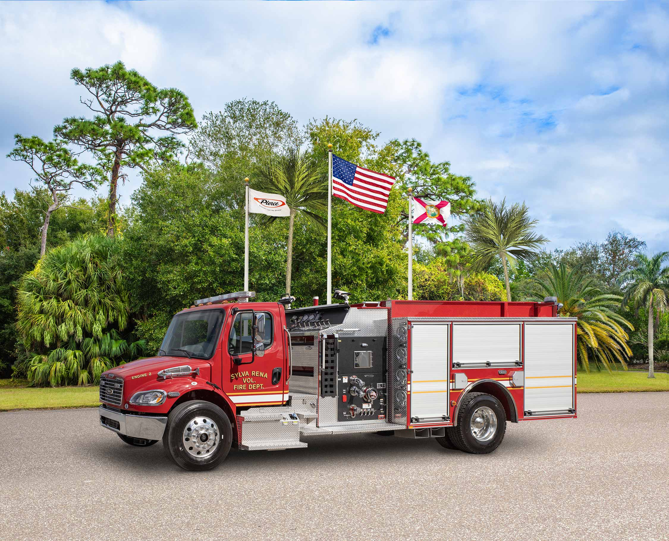 Sylva Rena Volunteer Fire Department - Pumper