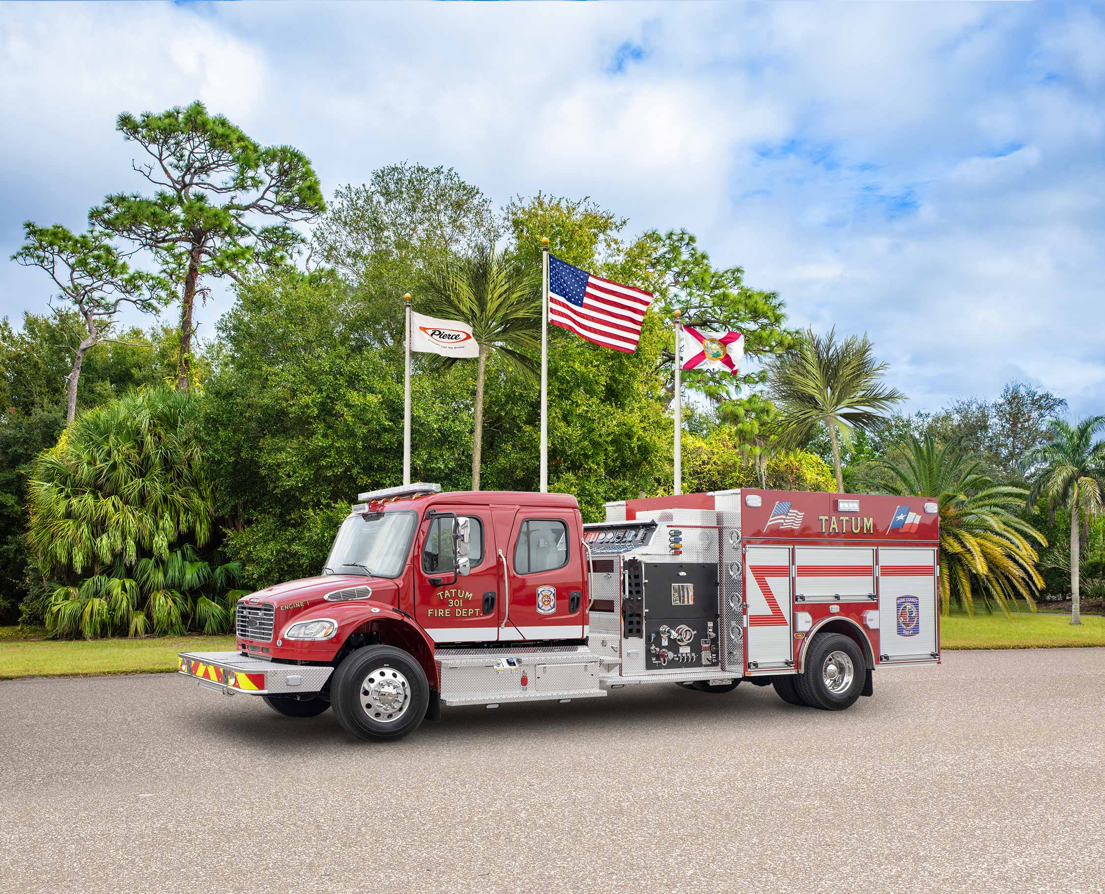 Rusk County Emergency Services District No.1 - Pumper