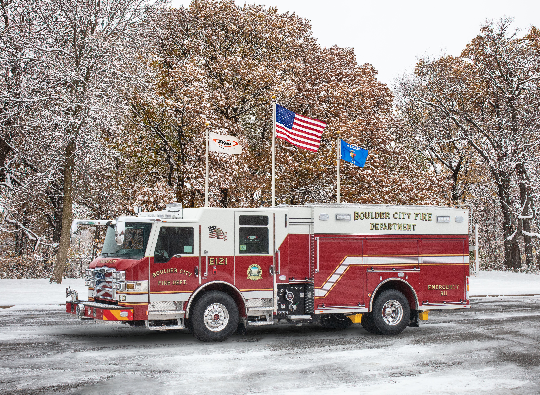 Boulder City Fire Department - Pumper