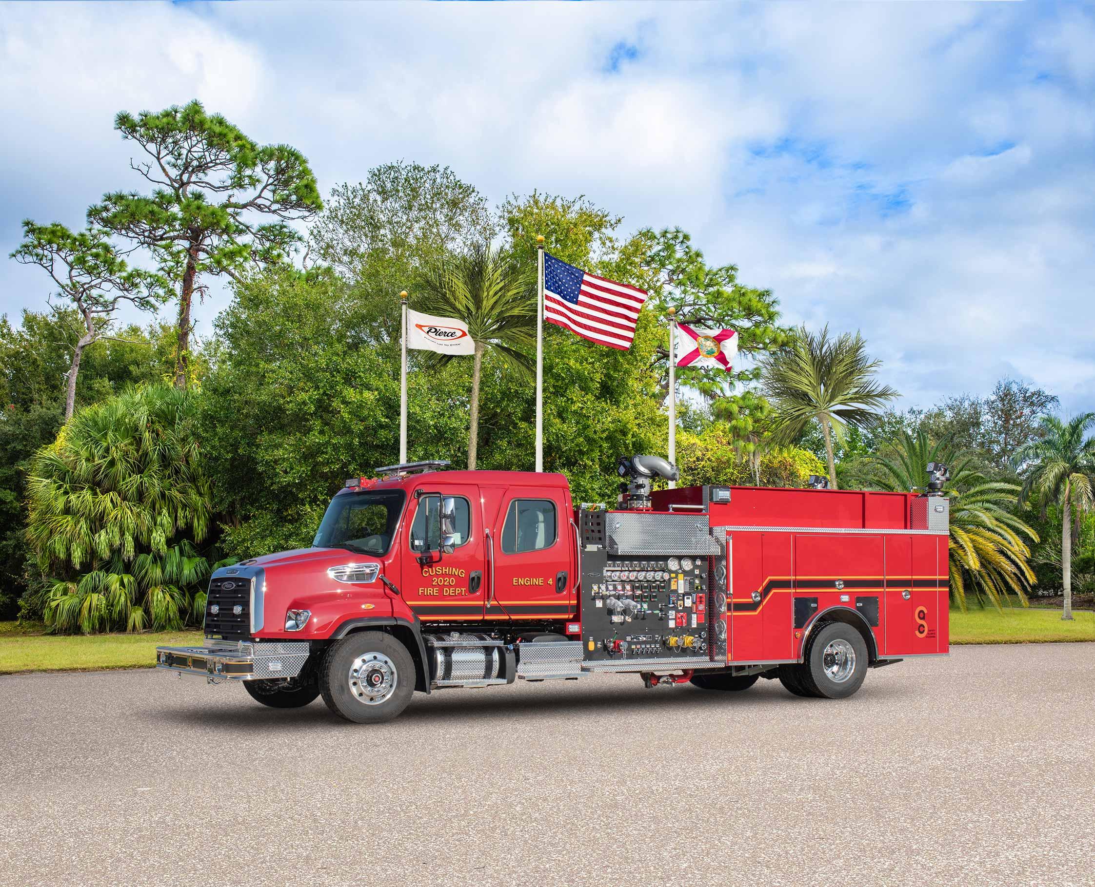 Cushing Fire Department - Pumper