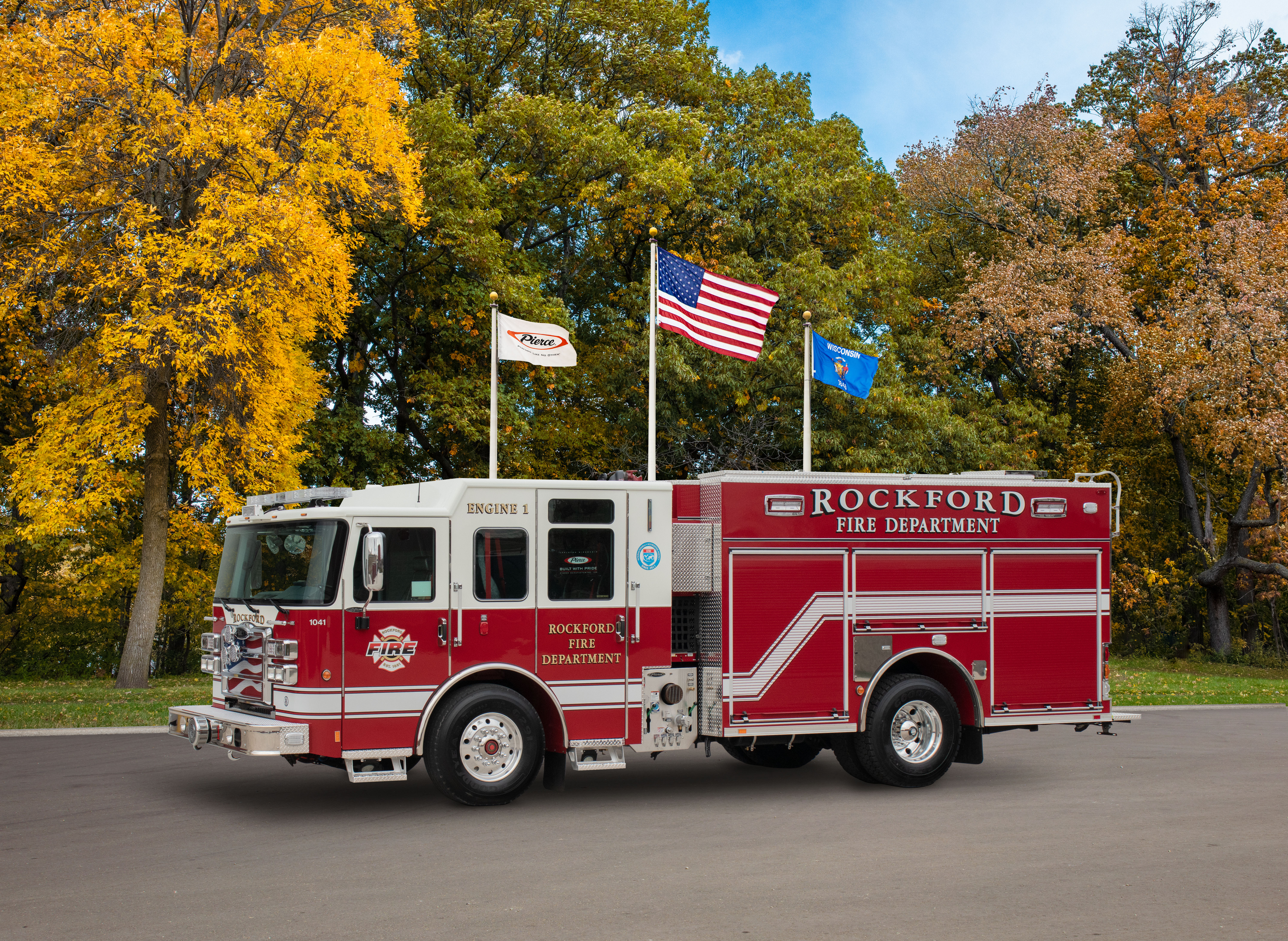 Rockford Fire Department - Pumper