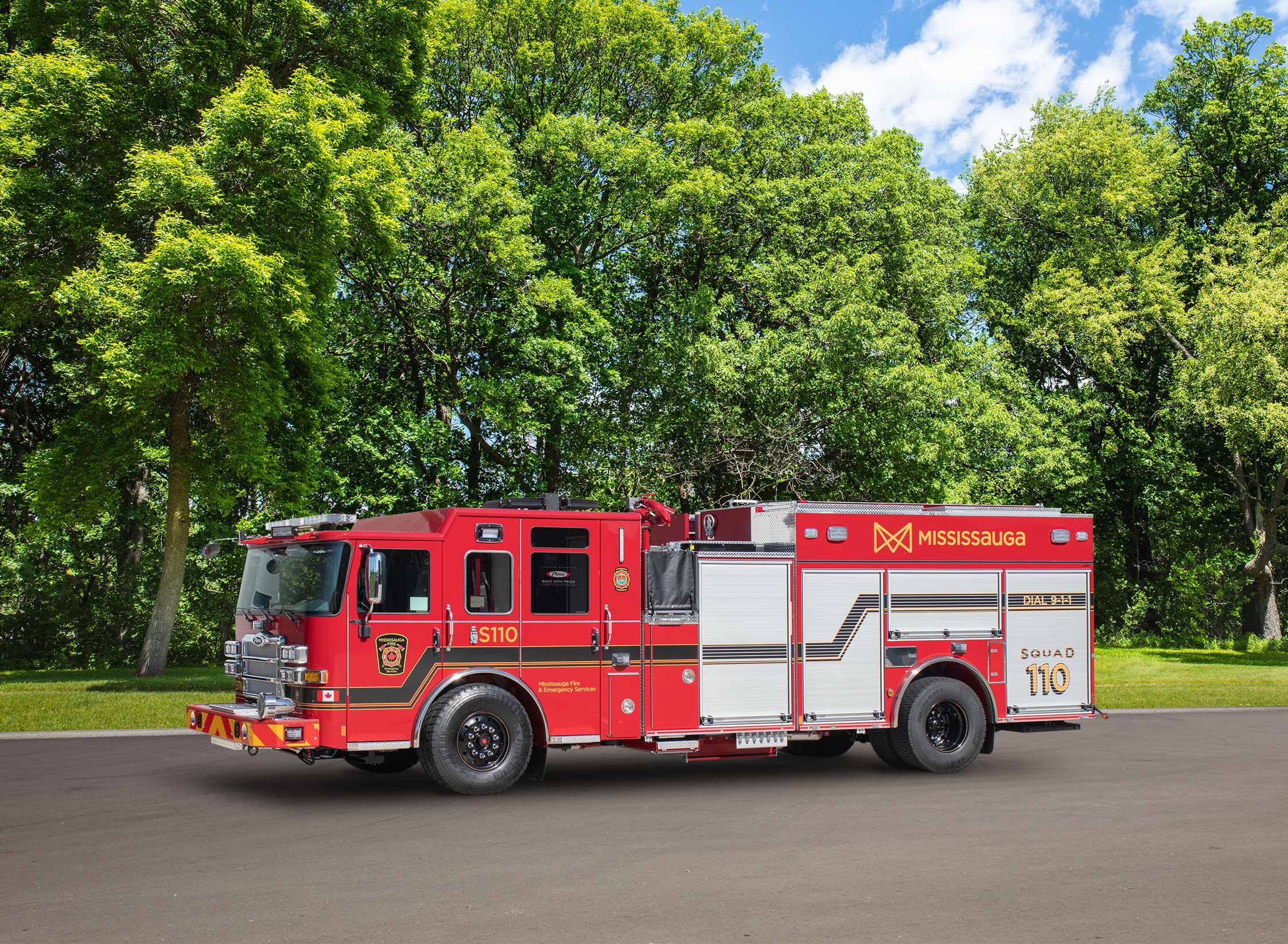 Mississauga Fire & Emergency Services - Pumper