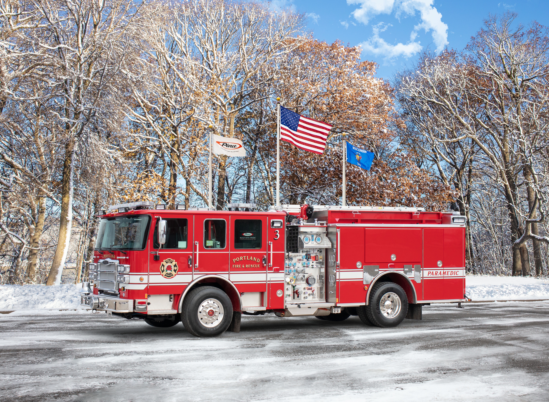 Portland Fire & Rescue - Pumper