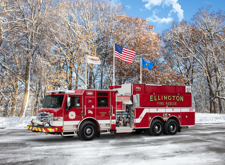 Town of Ellington Fire Department - Tanker