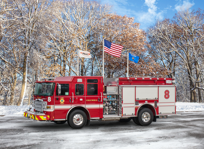 Columbia Fire Department - Pumper