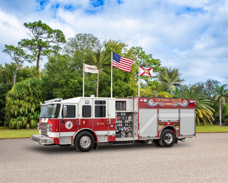 Coeymans Hollow Fire Company - Pumper