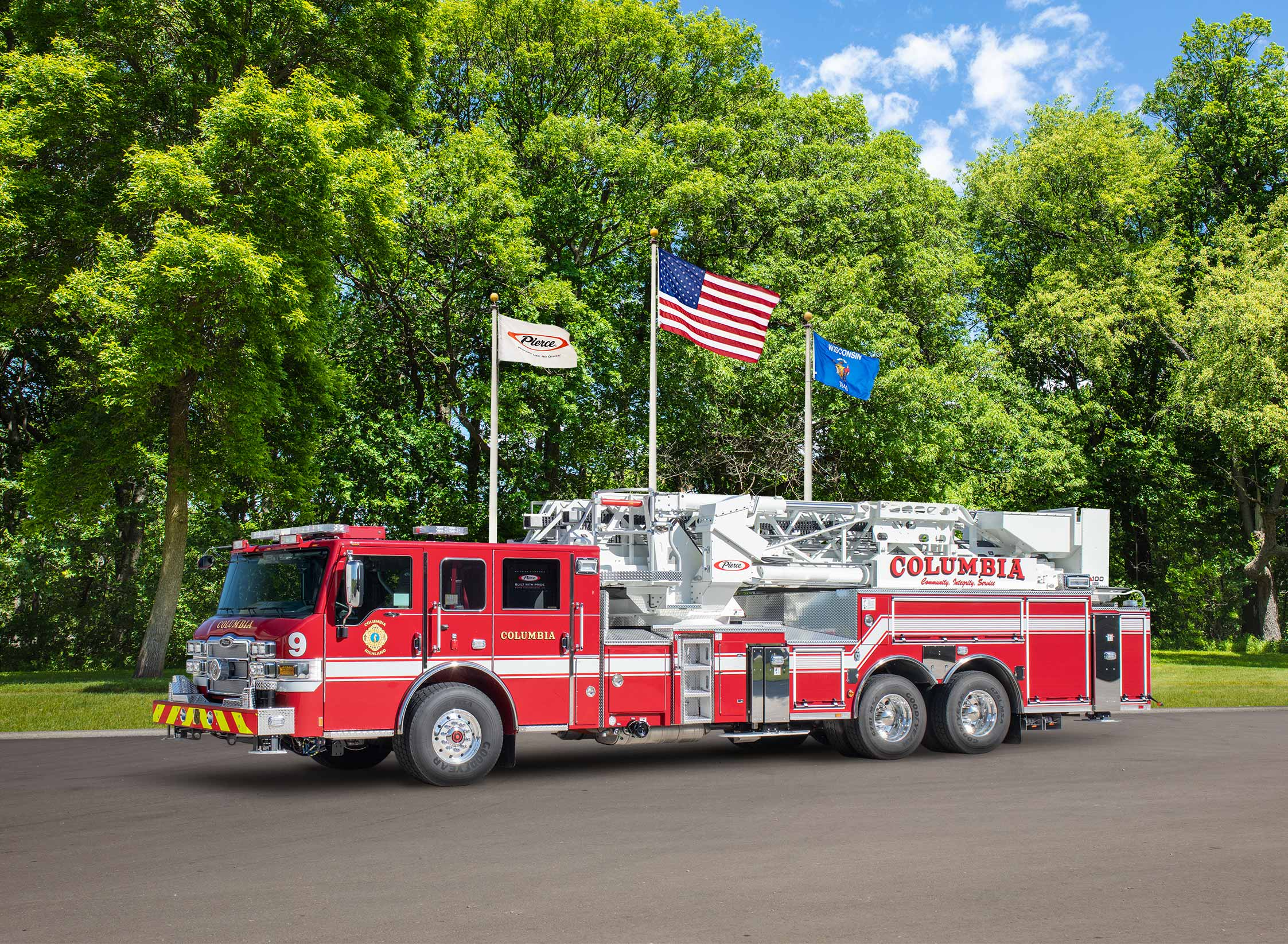 Columbia Fire Department - Aerial