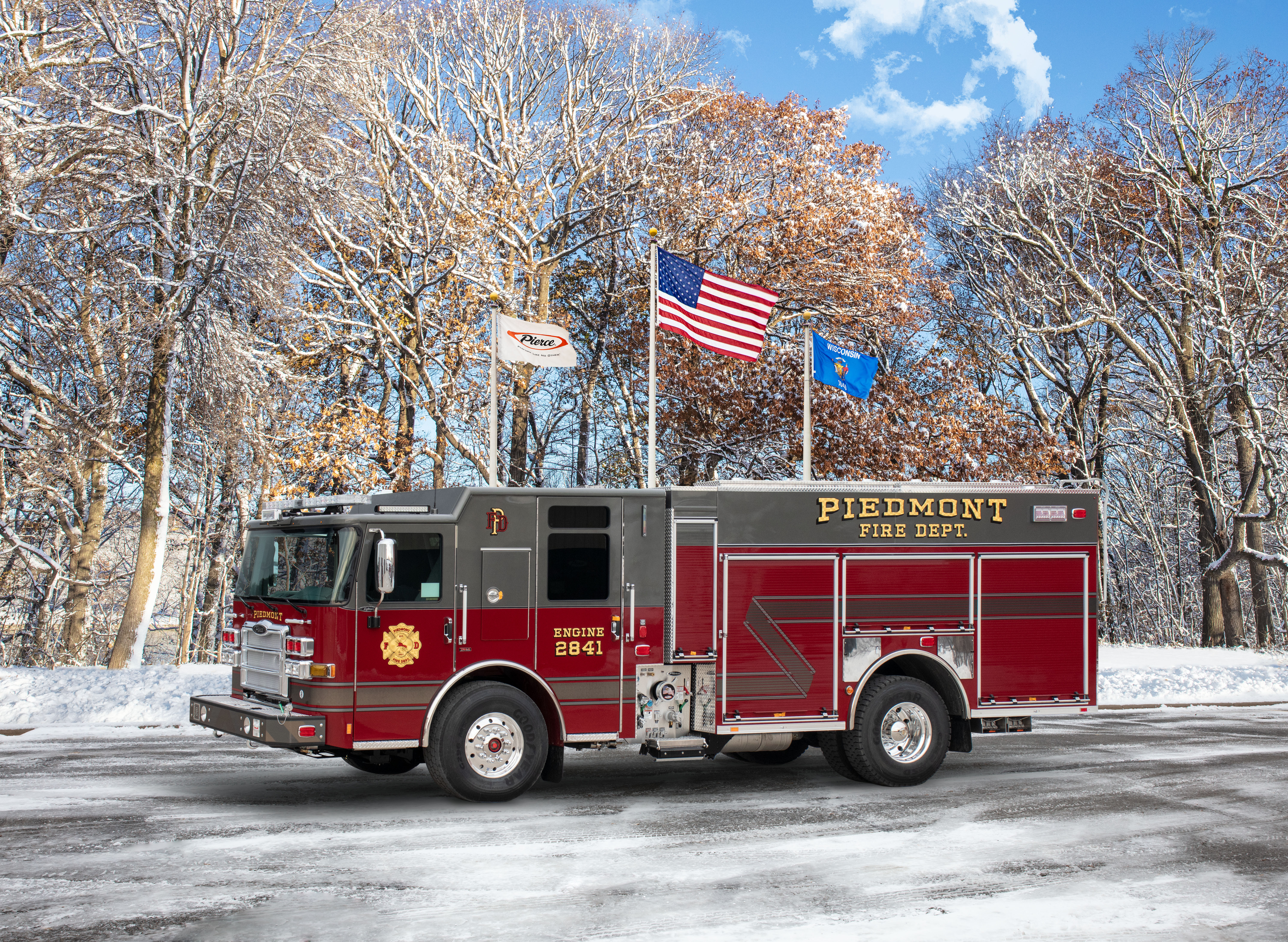 Piedmont Fire Department - Pumper