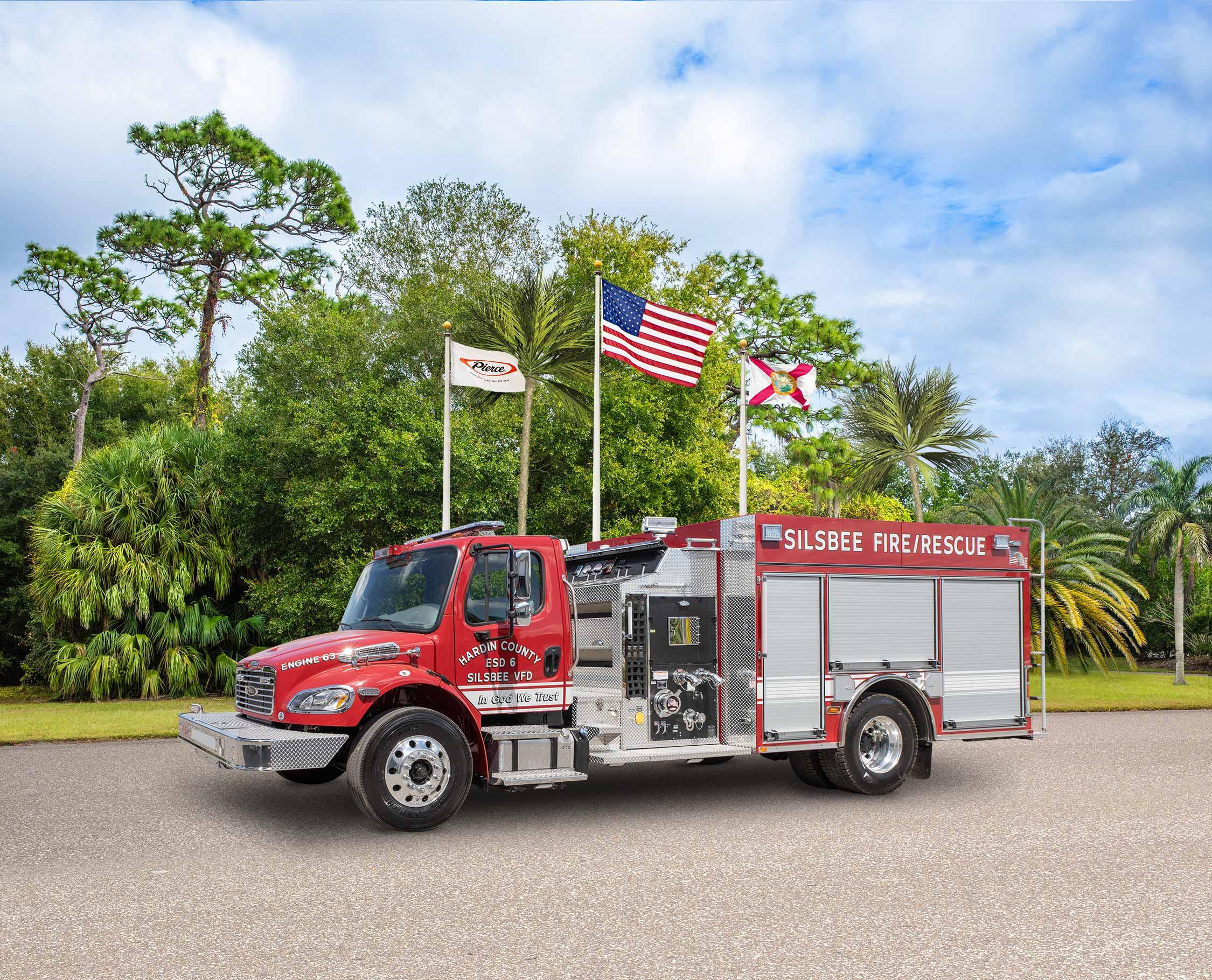 Silsbee Volunteer Fire Department - Pumper
