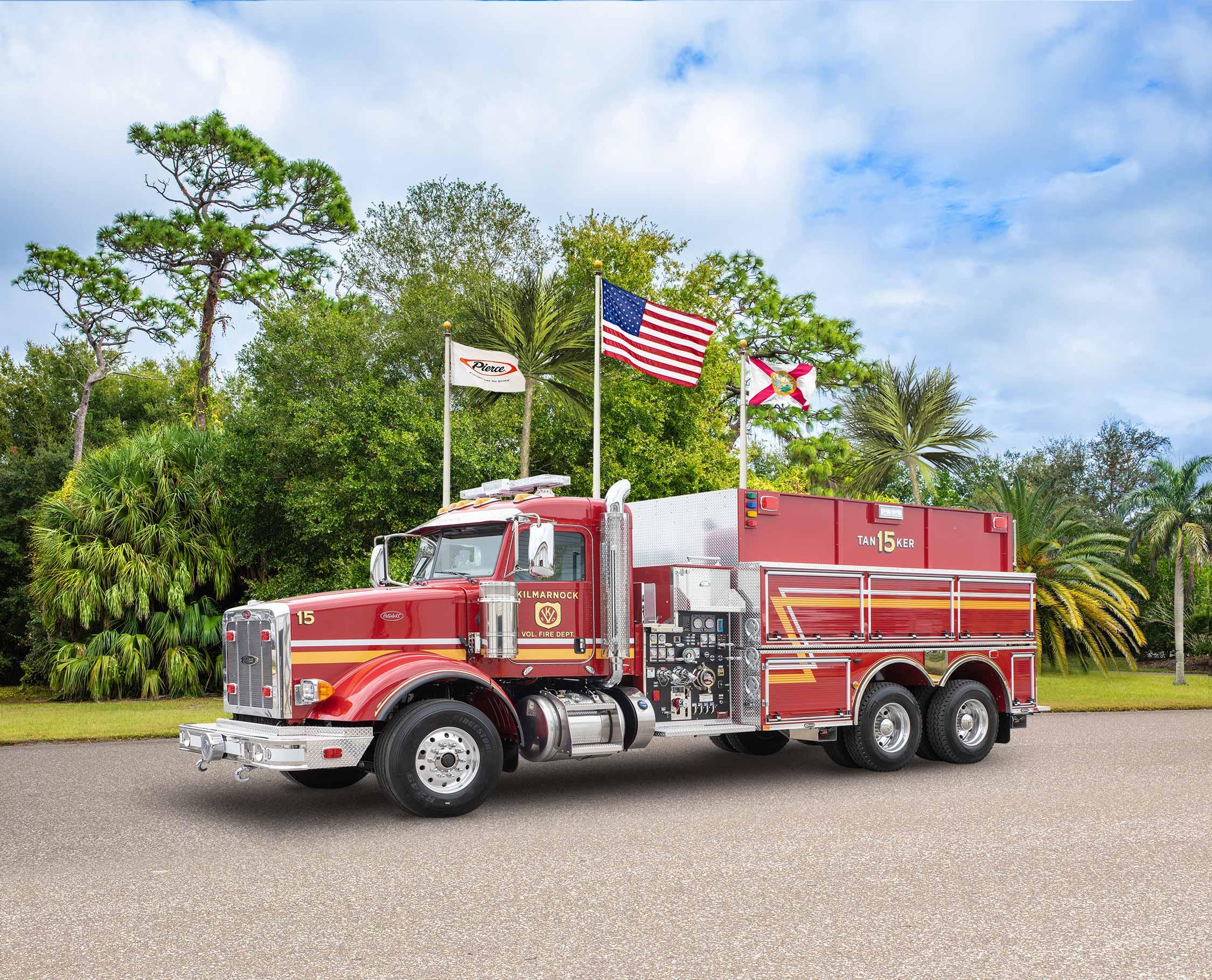 Kilmarnock Volunteer Fire Department - Tanker