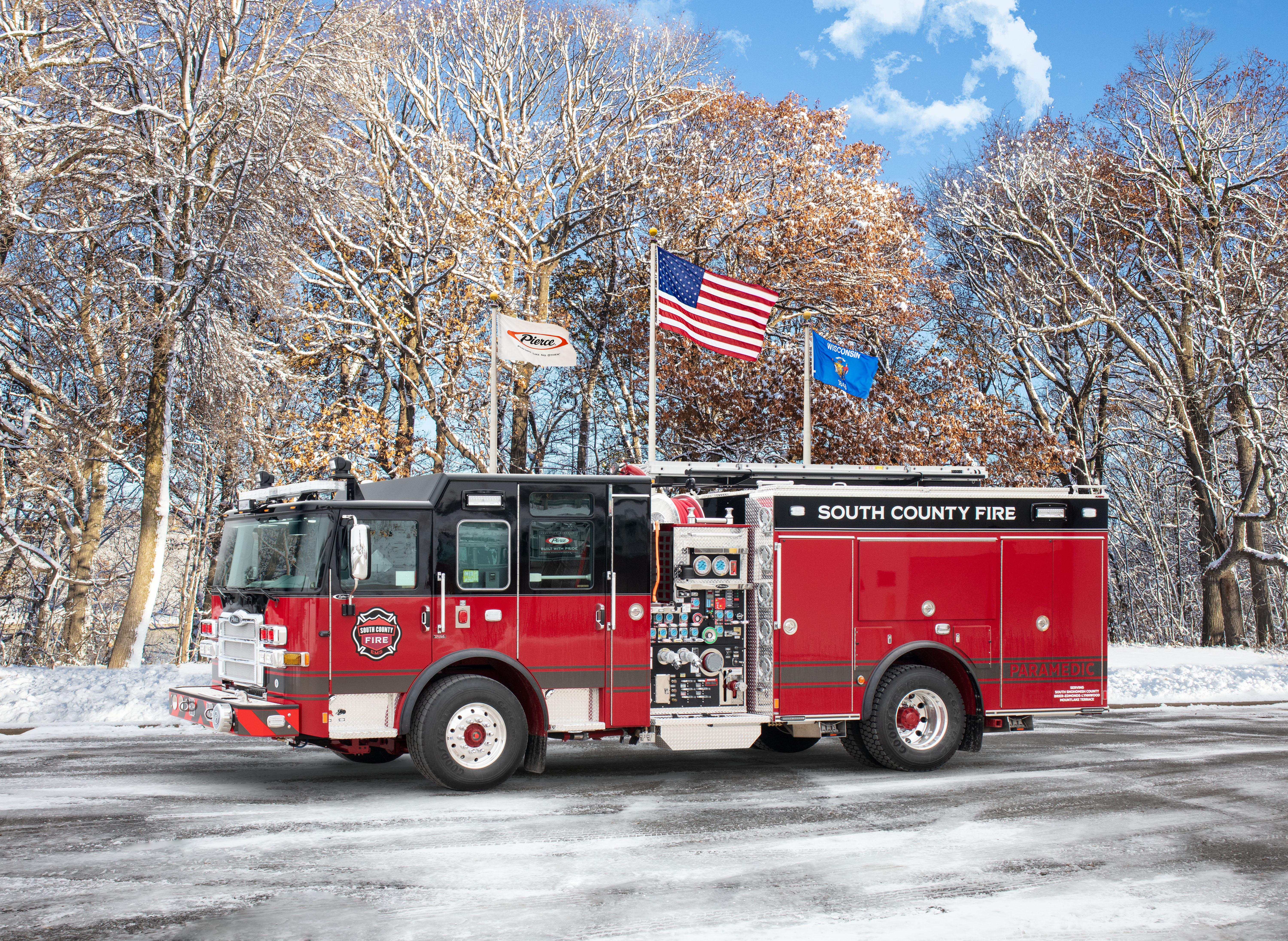 South Snohomish County Fire & Rescue - South Count - Pumper