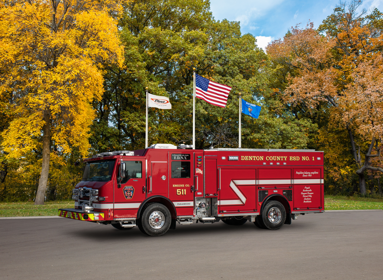 Denton County Emergency Service District - Pumper