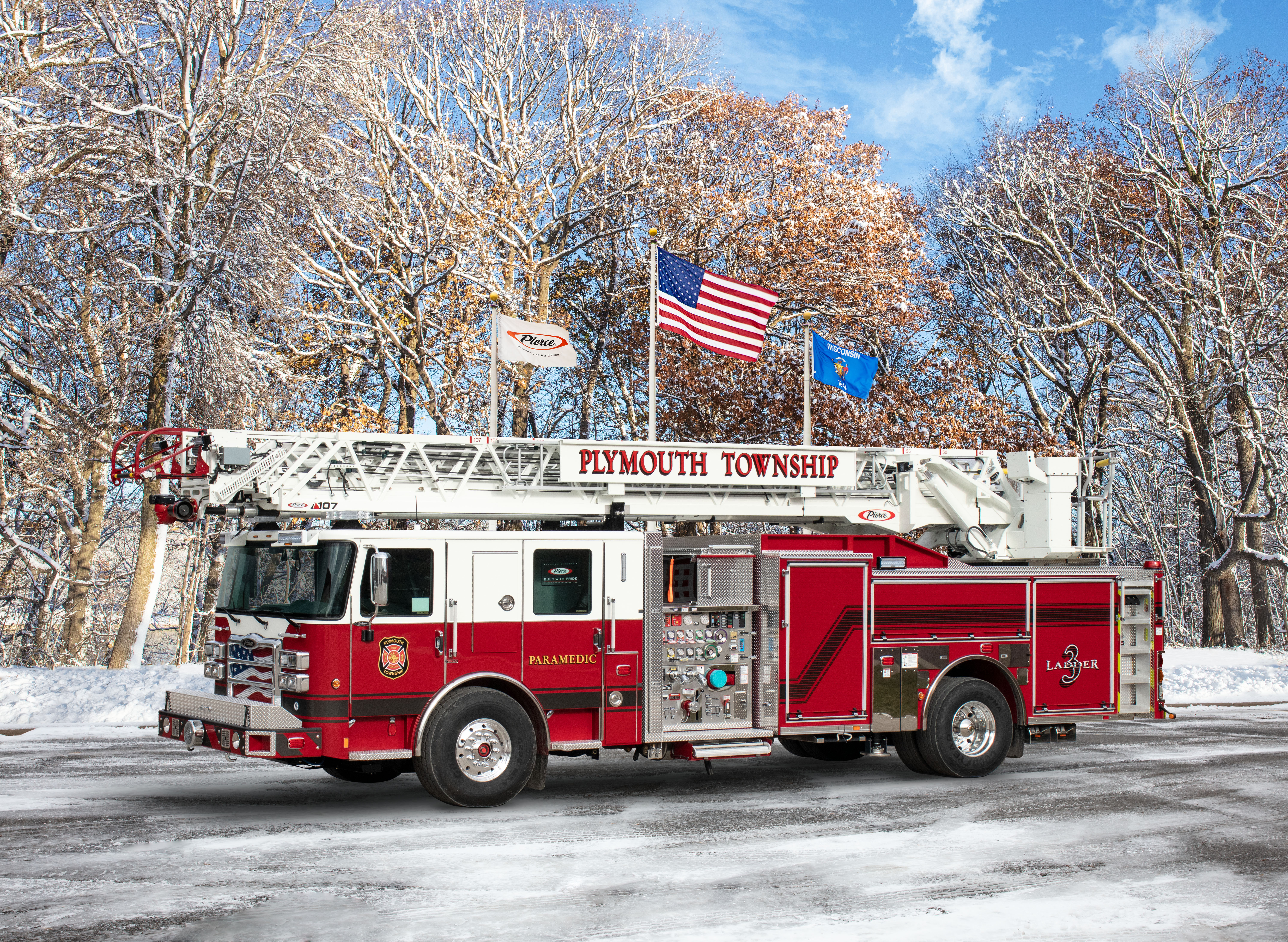 Plymouth Township Fire Department - Aerial