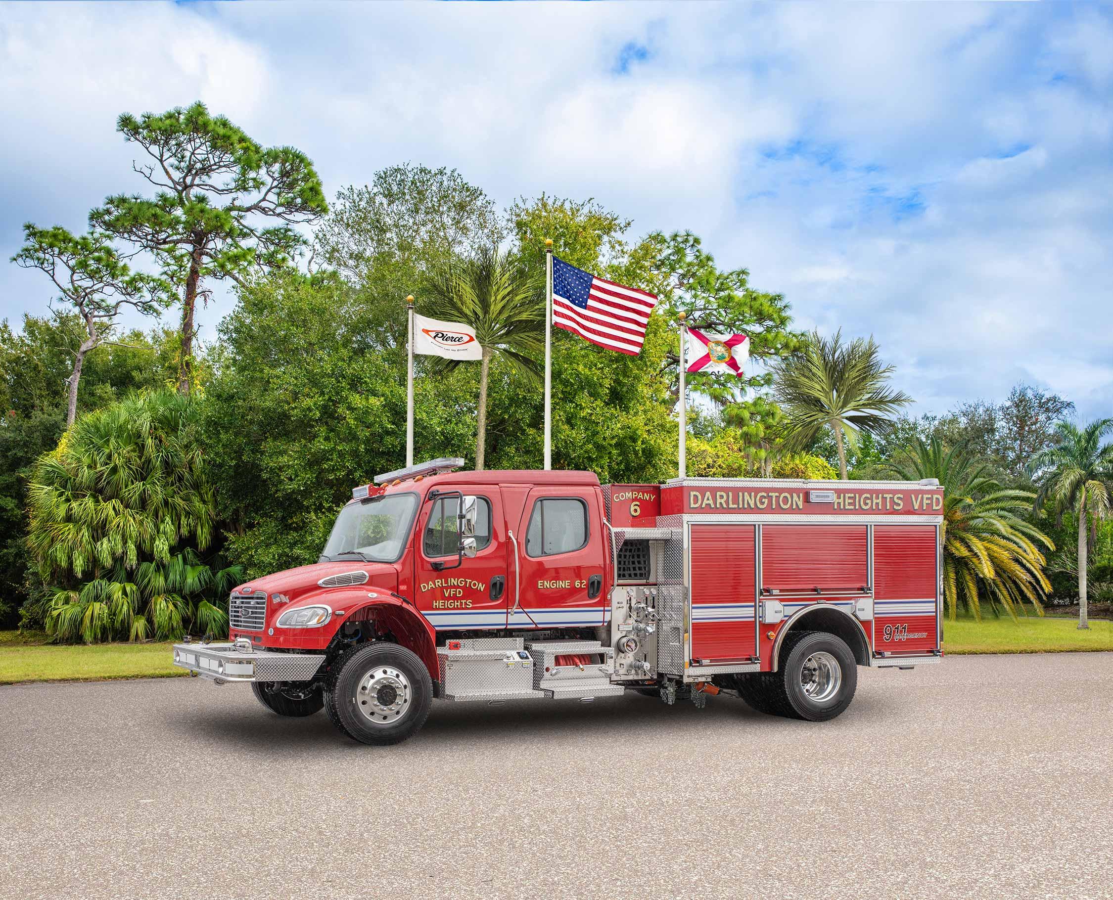 Darlington Heights Volunteer Fire Department - Pumper