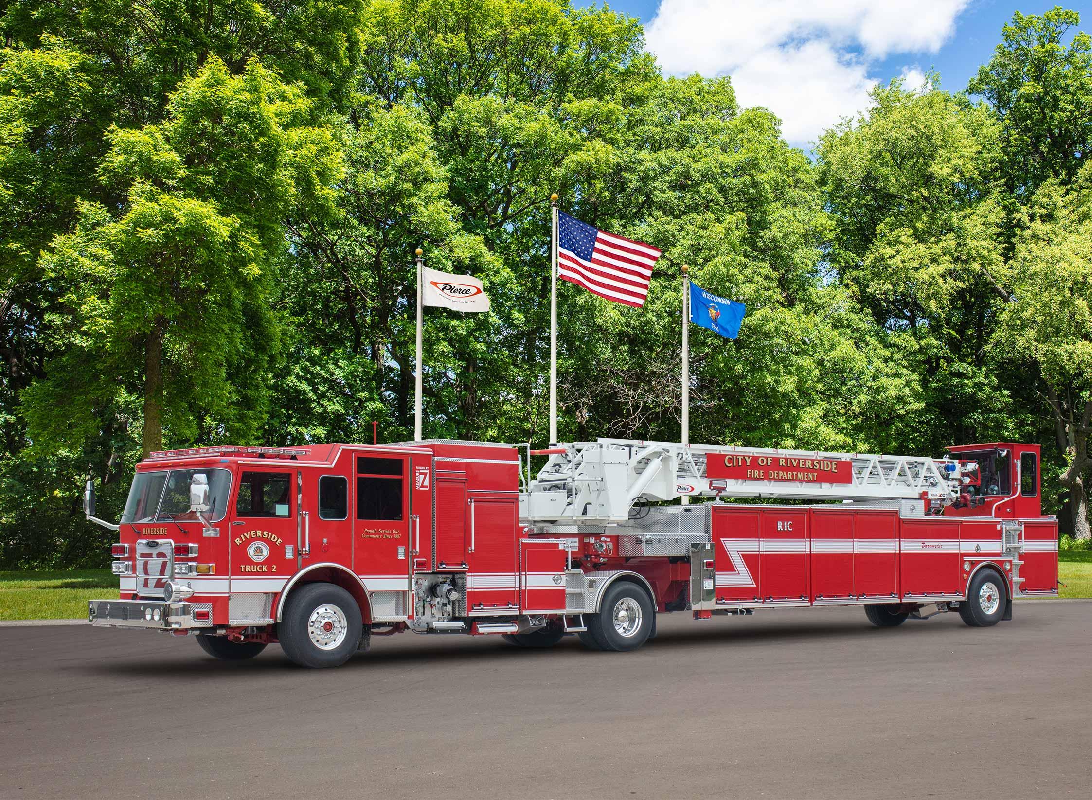 Riverside City Fire Department - Aerial