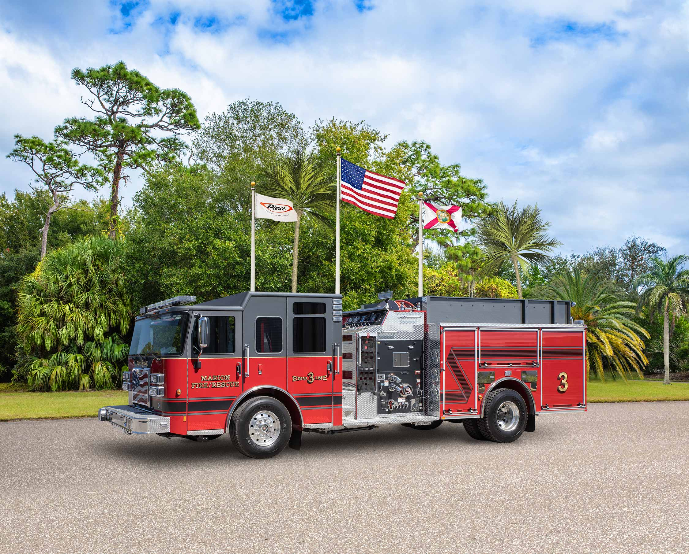 Marion Fire Department - Pumper