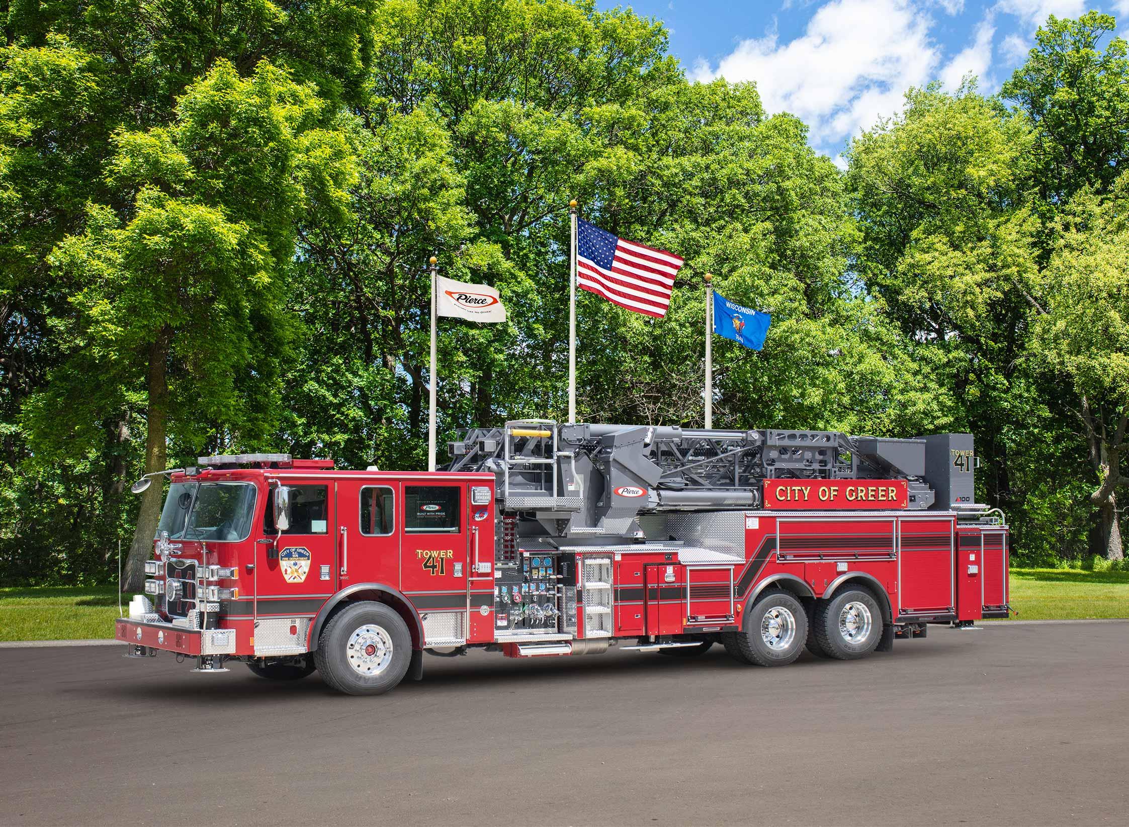 Greer Fire Department - Aerial