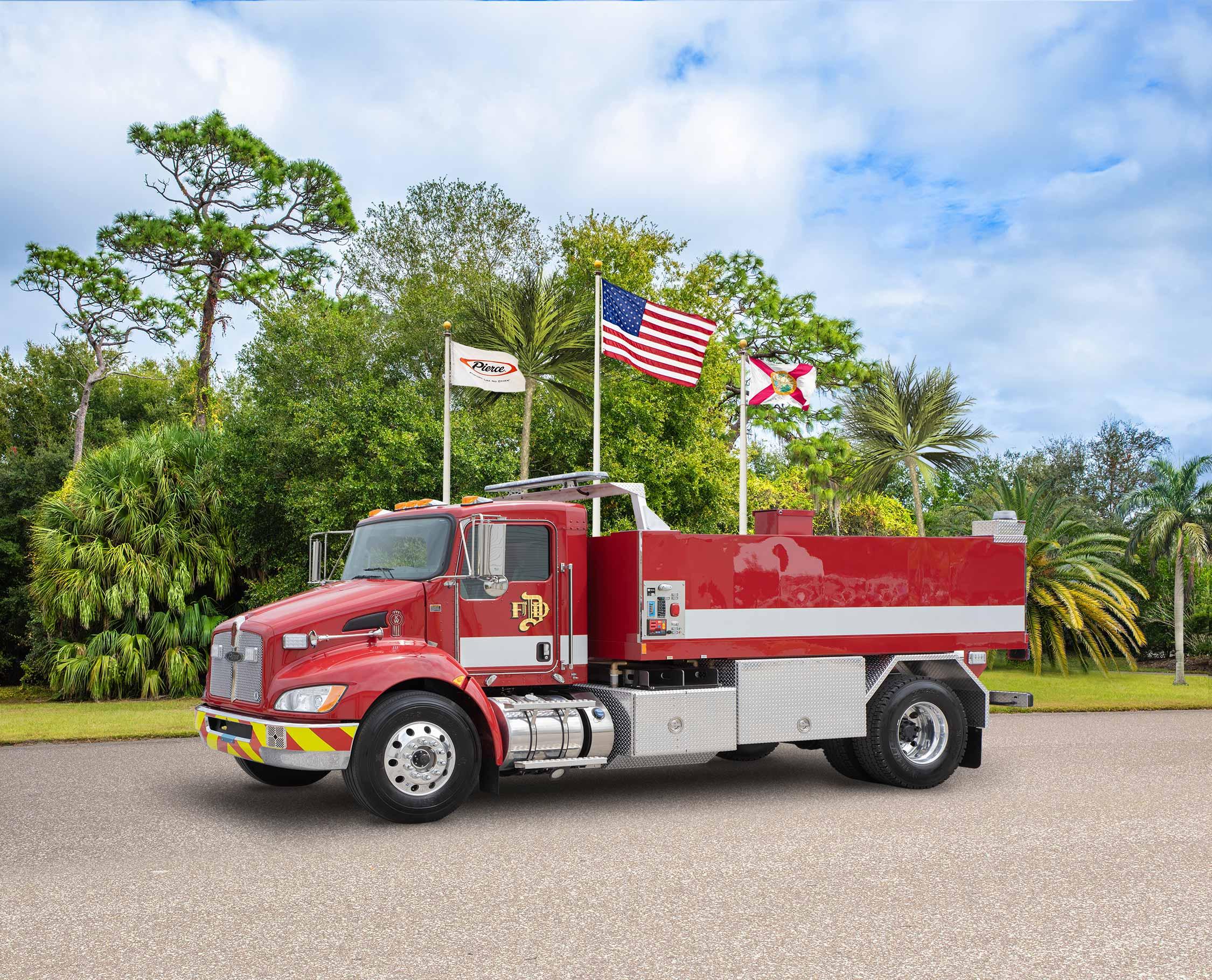 City of Danville Virginia Fire Department - Tanker