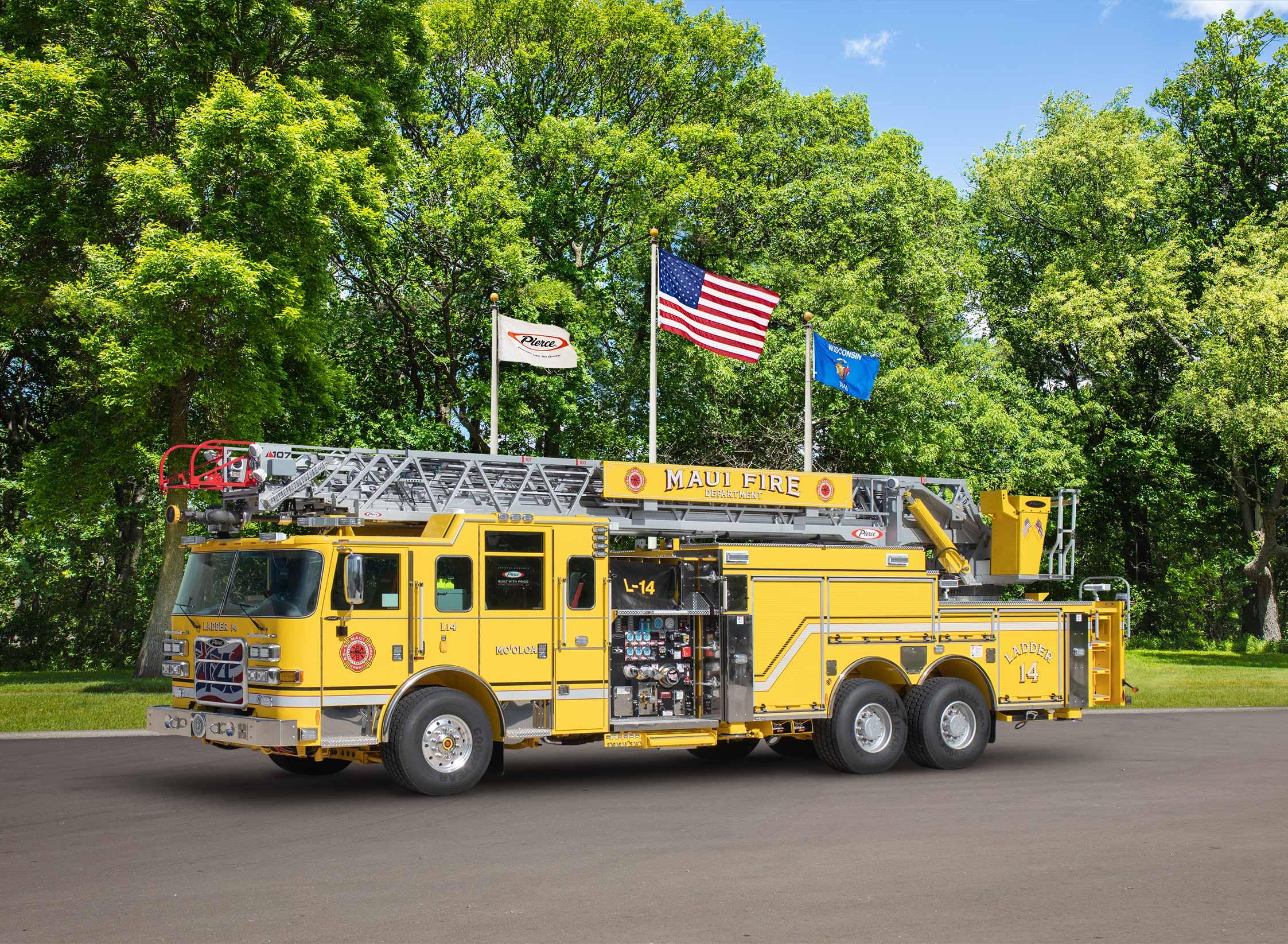 Maui Fire Department - Aerial