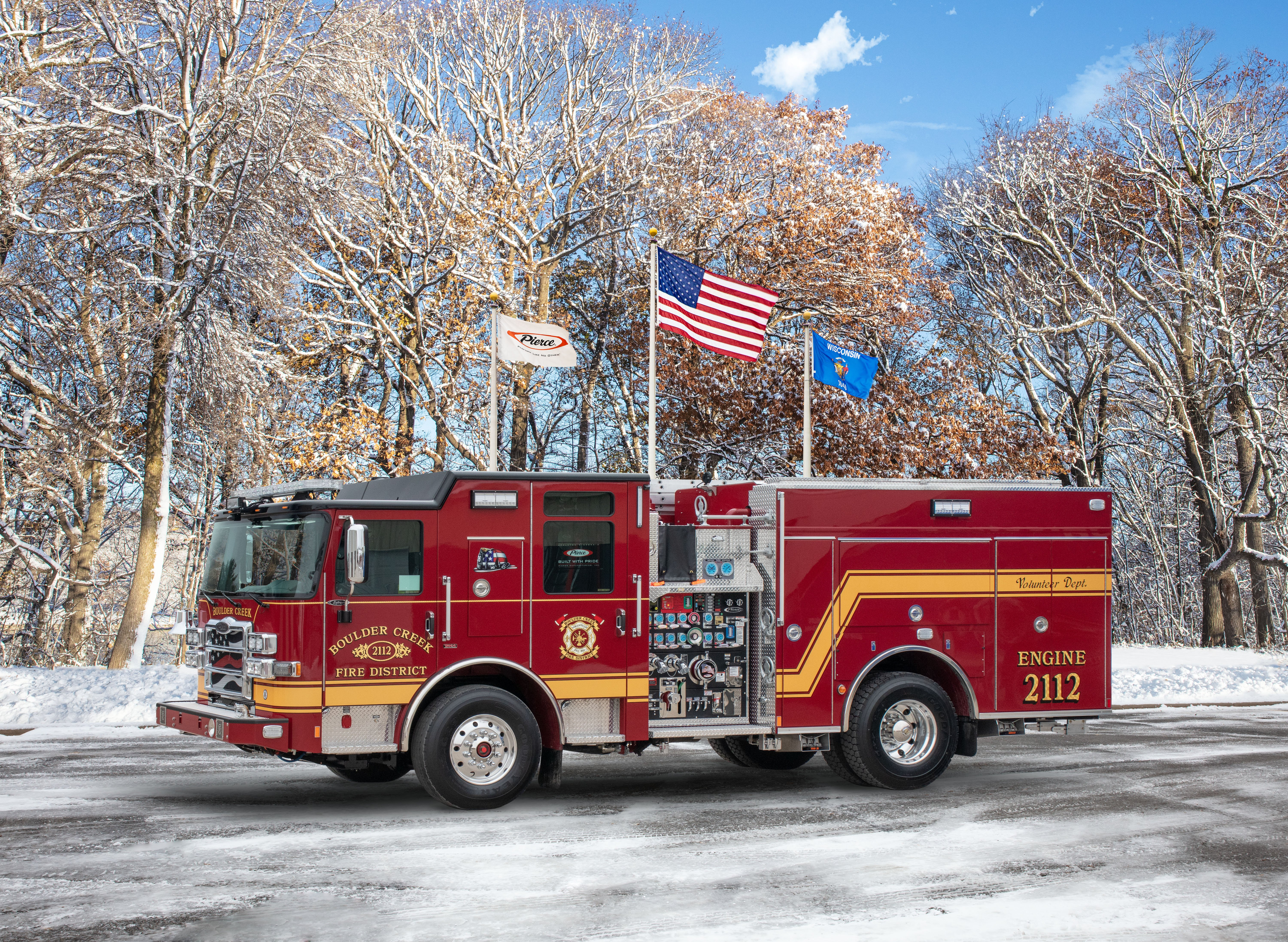 Boulder Creek Fire District - Pumper