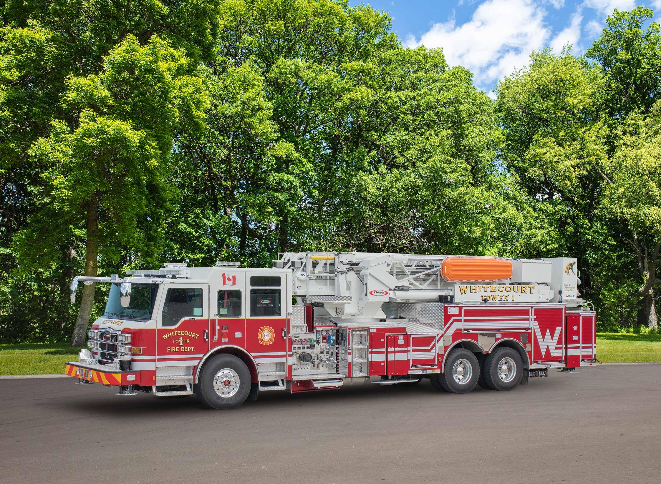 Whitecourt Fire Department - Aerial