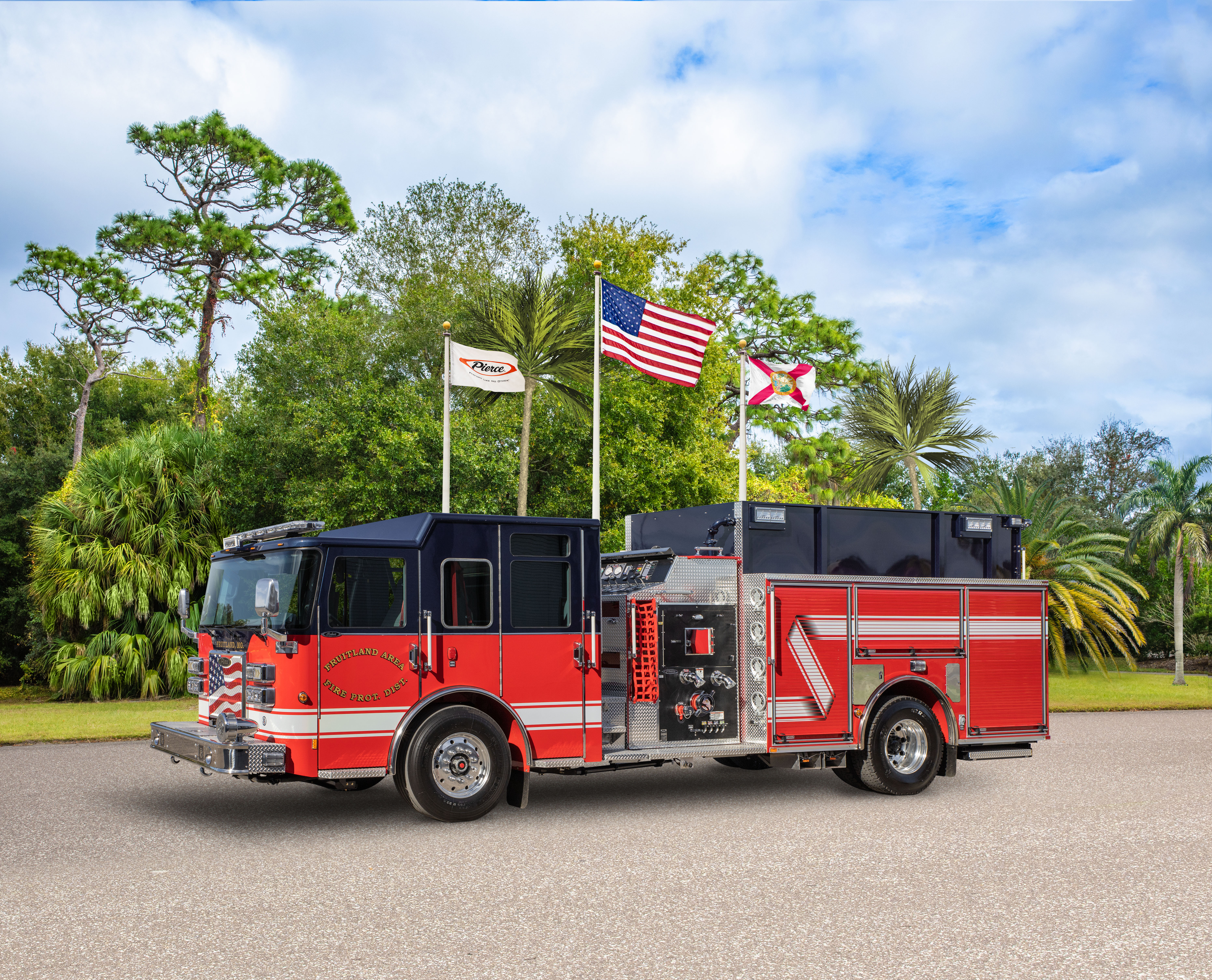 Fruitland Area Fire Protection District - Pumper
