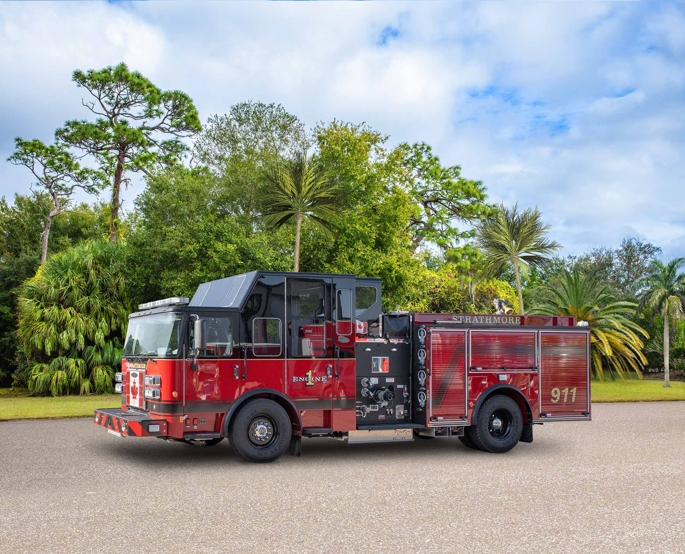 Strathmore Fire Department - Pumper