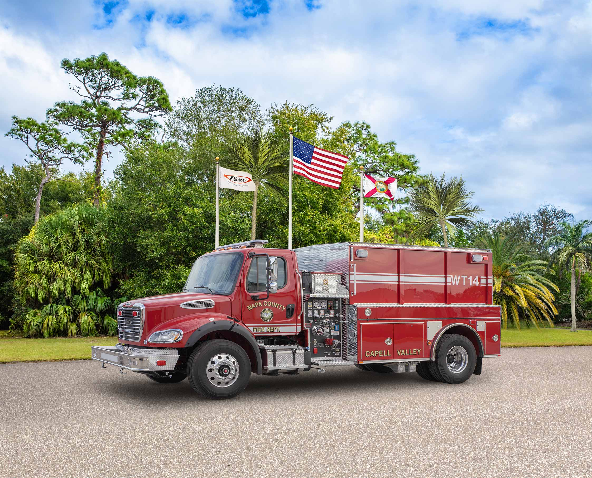 Napa County Fire Department - Tanker