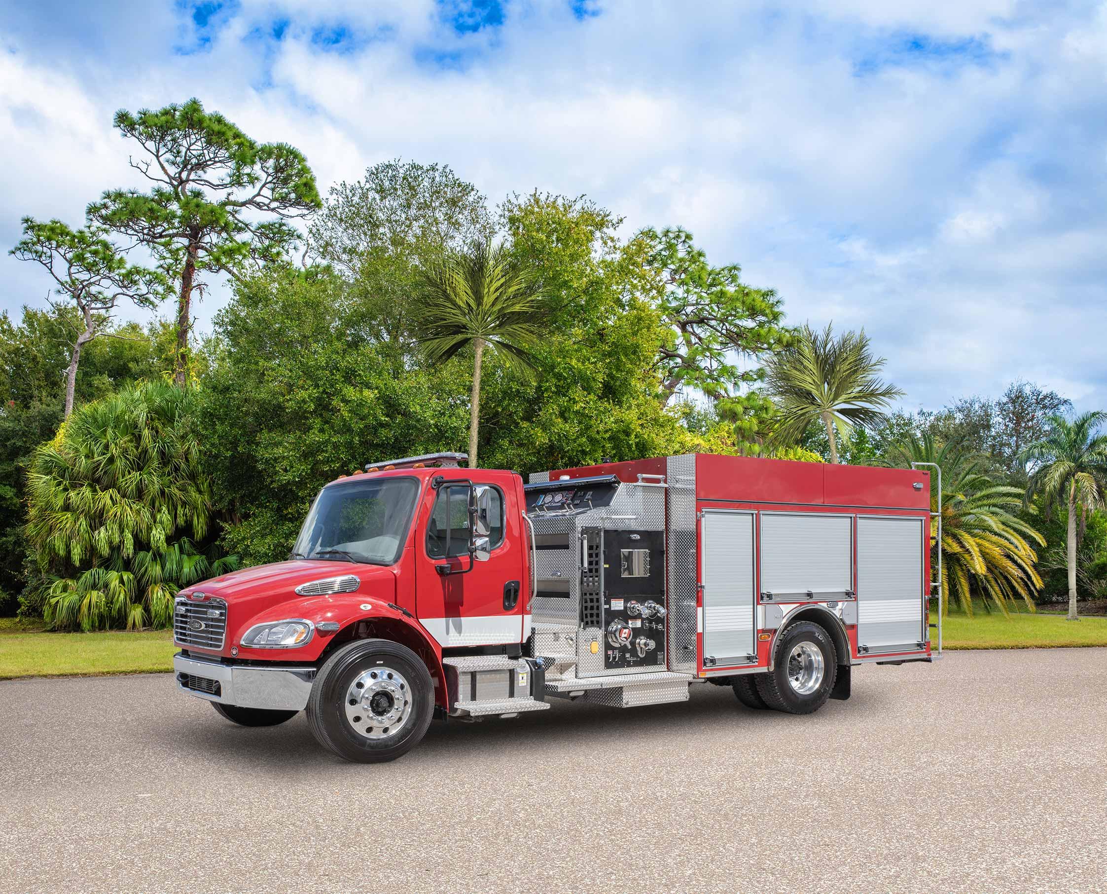 Tuktoyaktuk Fire Department - Pumper