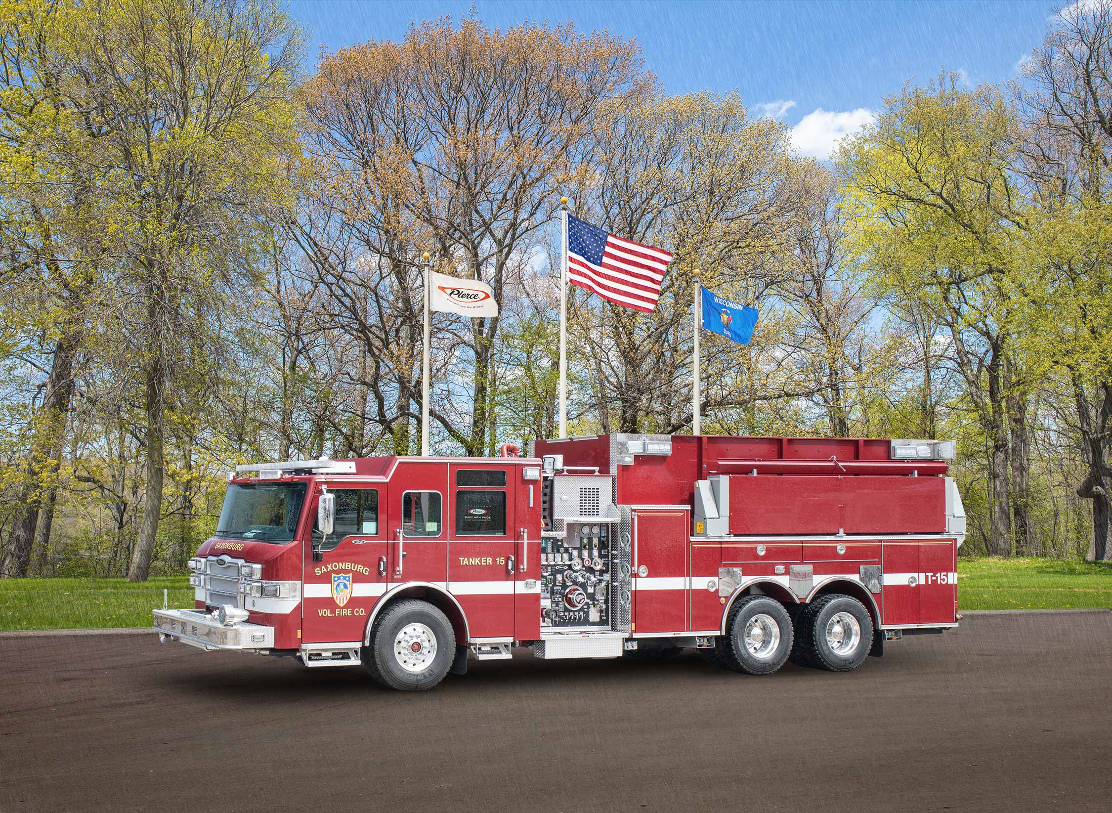 Saxonburg Volunteer Fire Company - Tanker