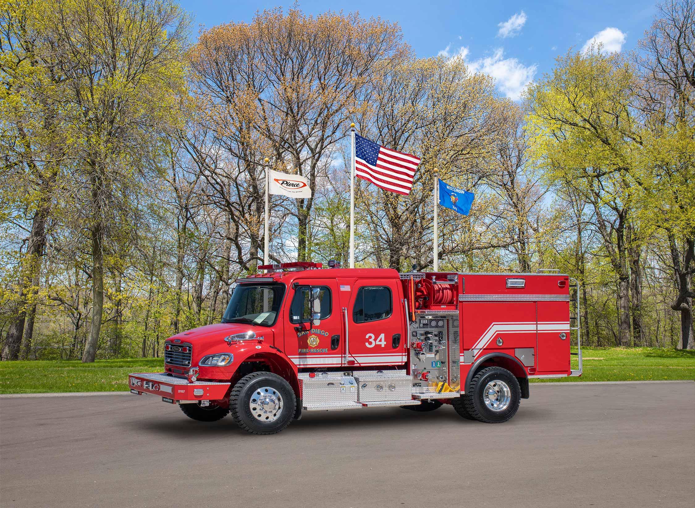 San Diego Fire-Rescue - Pumper
