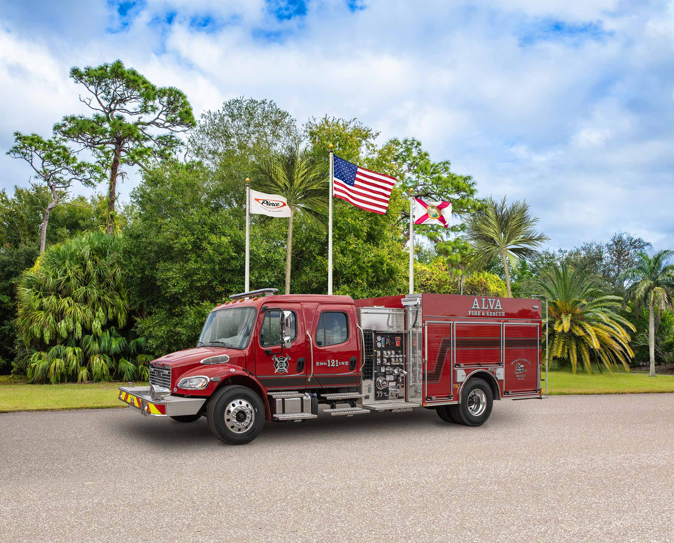 Alva Fire Control & Rescue Service District - Pumper