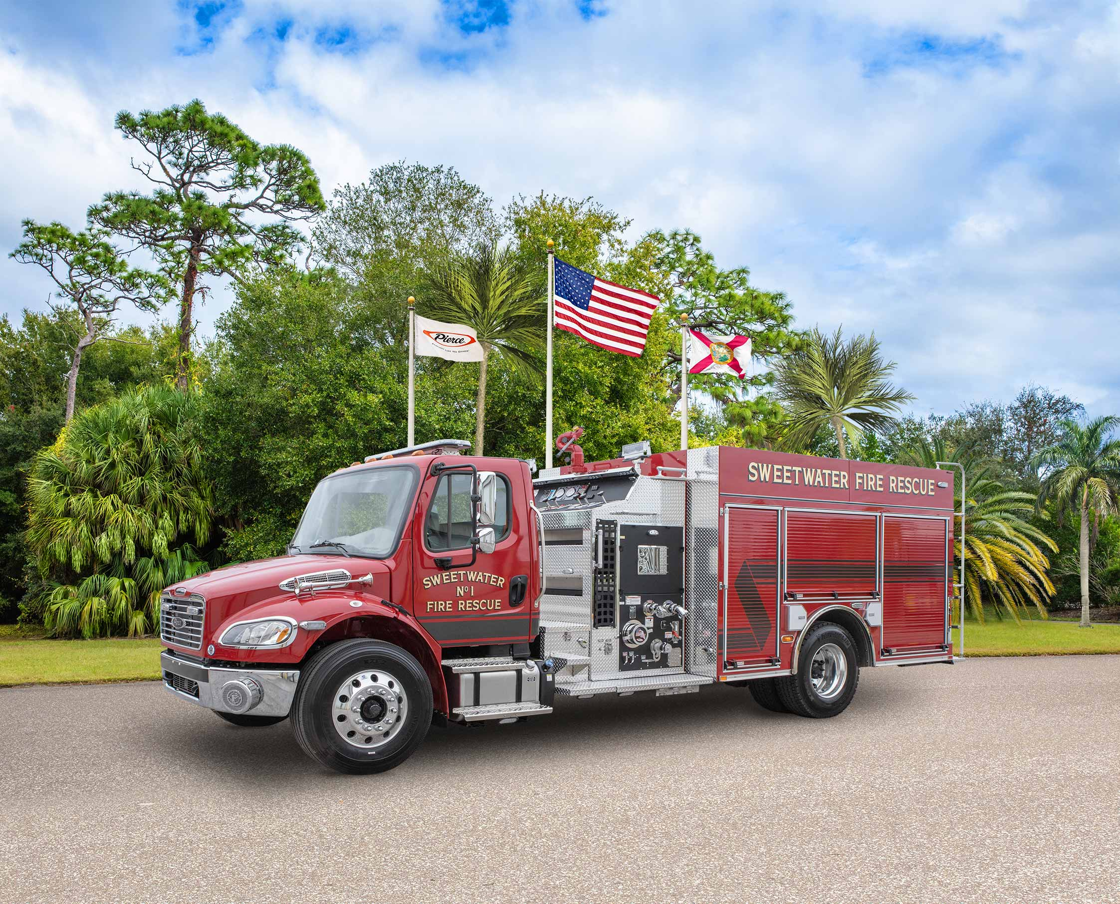 Sweetwater Fire Department - Pumper
