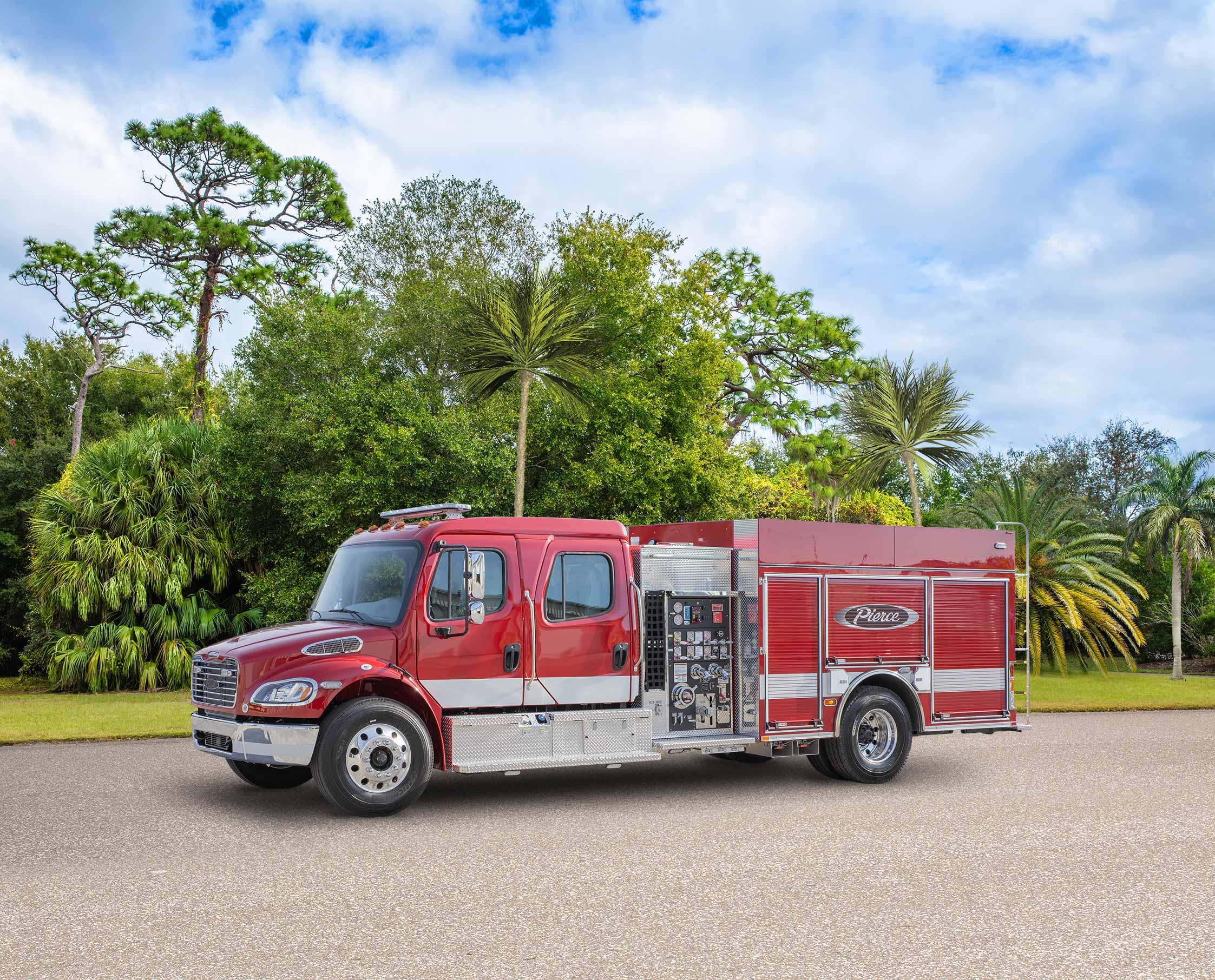 Saint-Francois-de-Madawaska Fire Department - Pumper