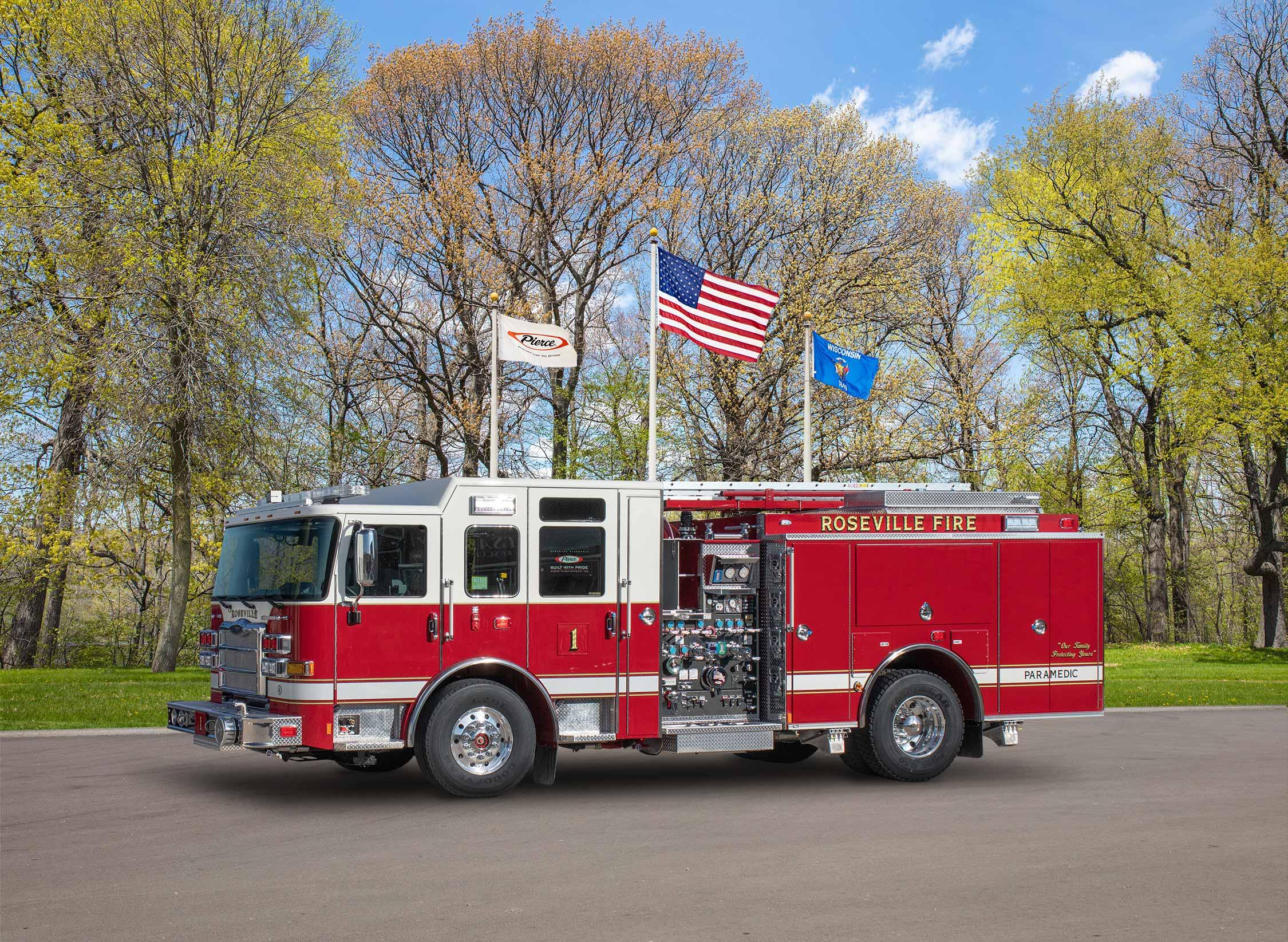 Roseville Fire Department - Pumper