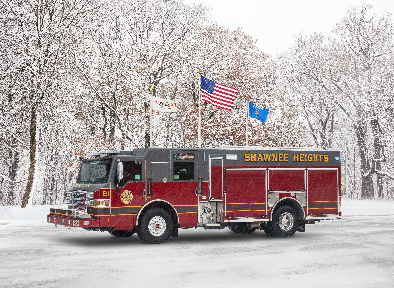 Shawnee Heights Fire Department - Pumper