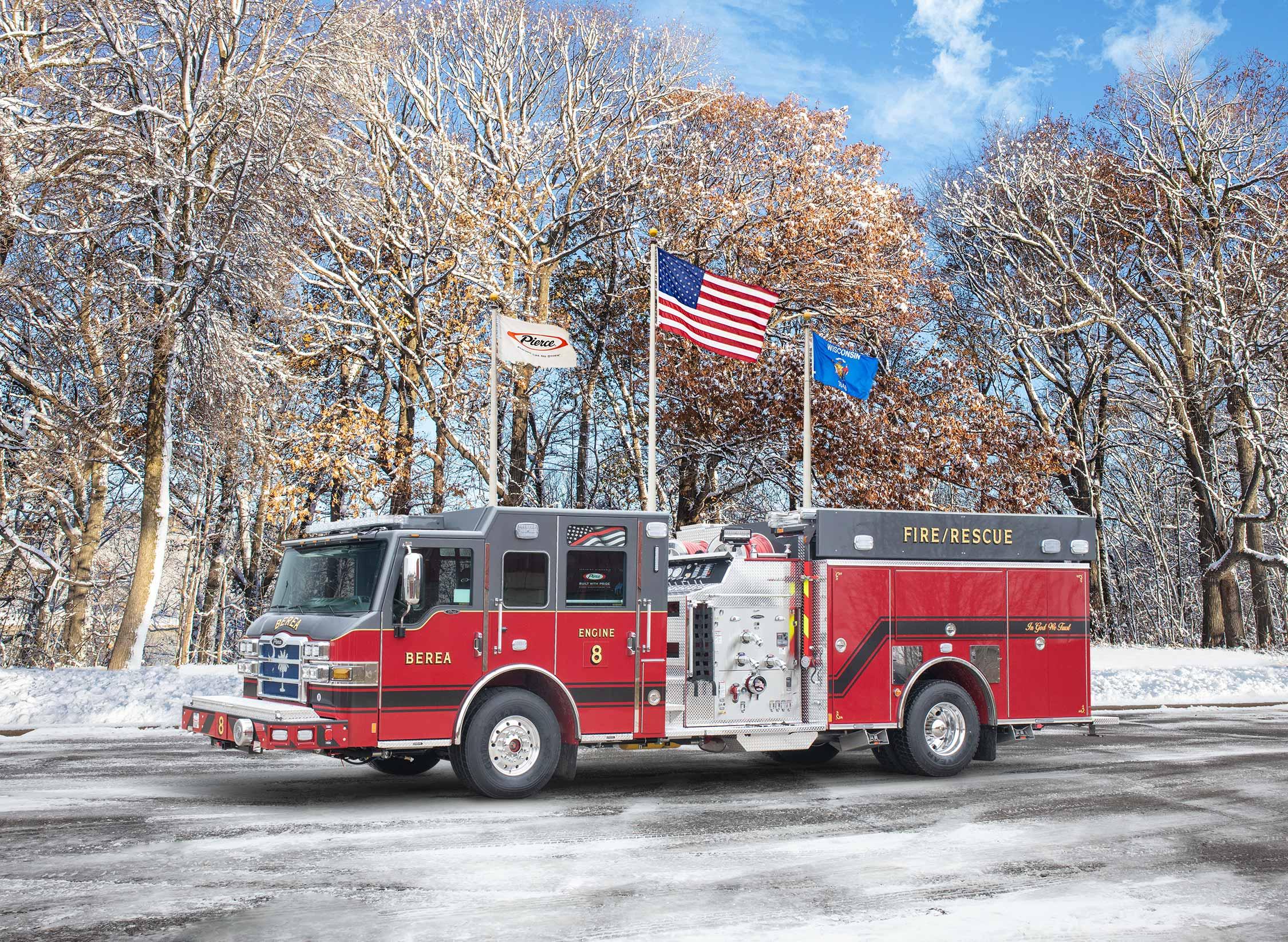 Berea Fire Department - Pumper