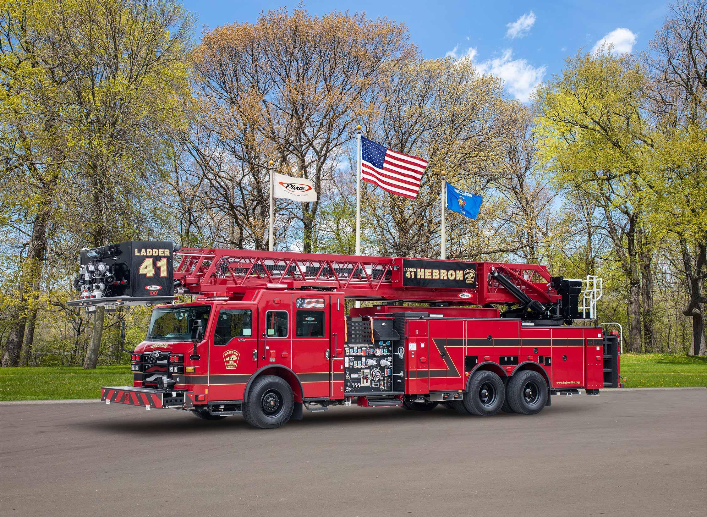 Hebron Fire Department - Aerial