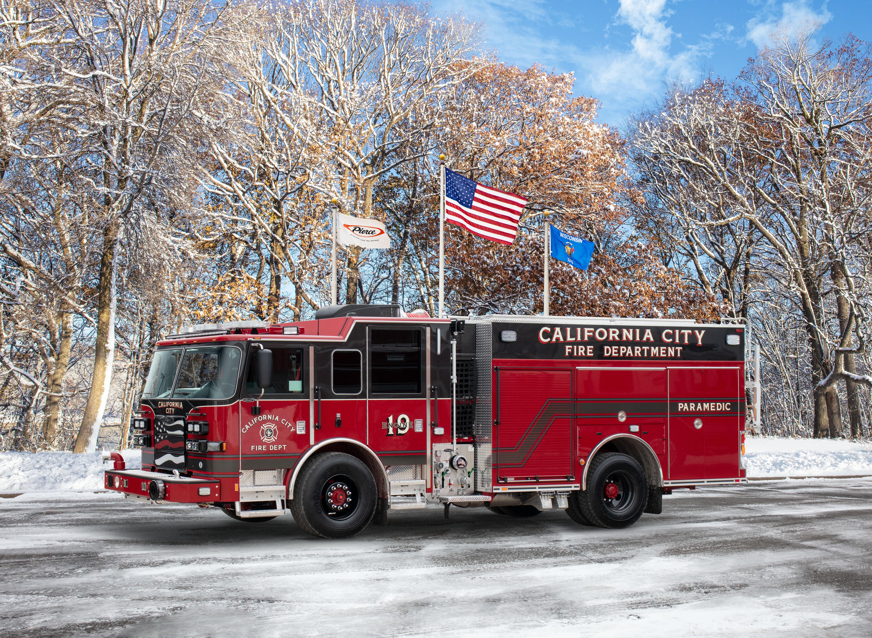 California City Fire Department - Pumper