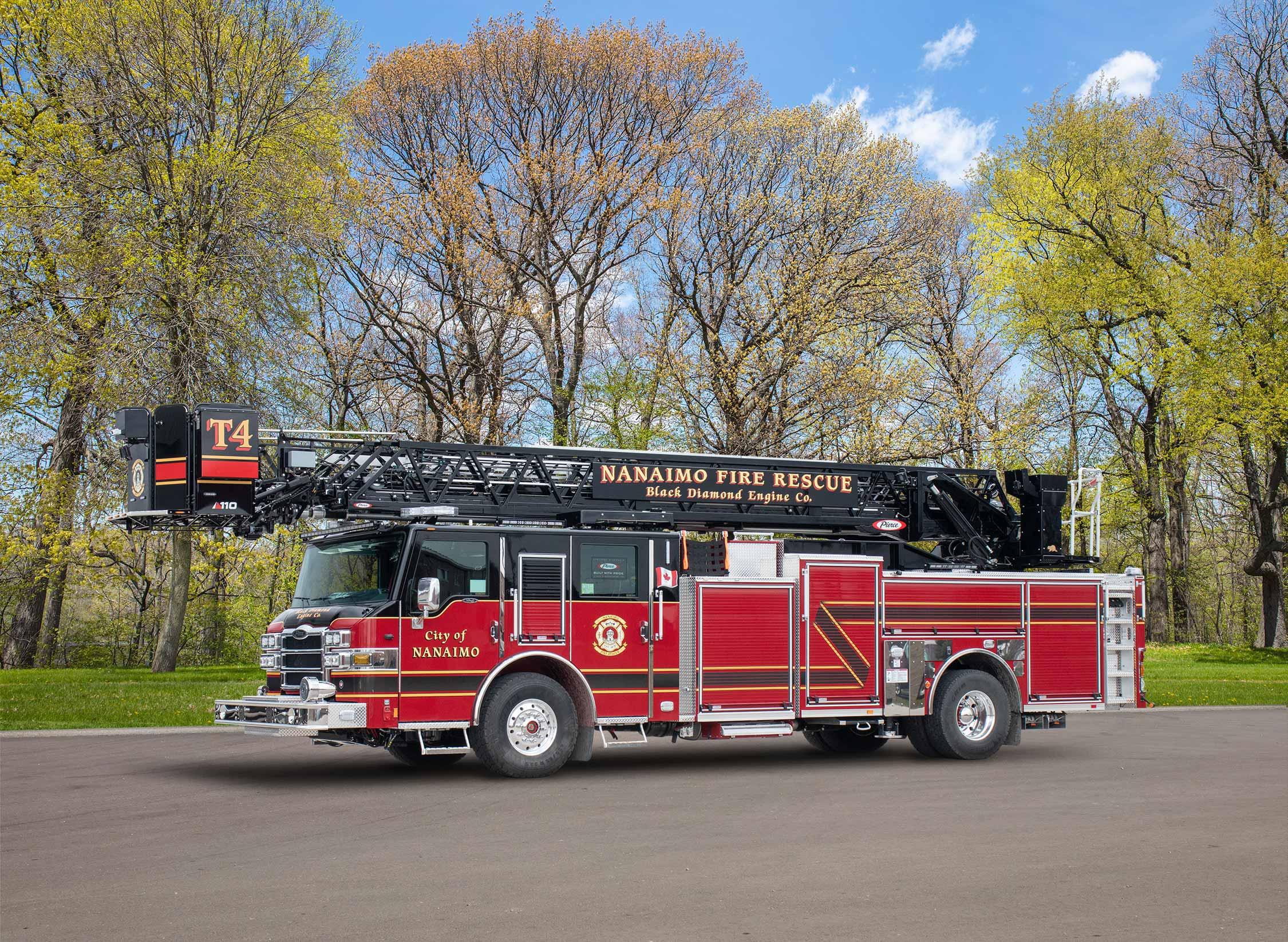 Nanaimo Fire Rescue - Aerial